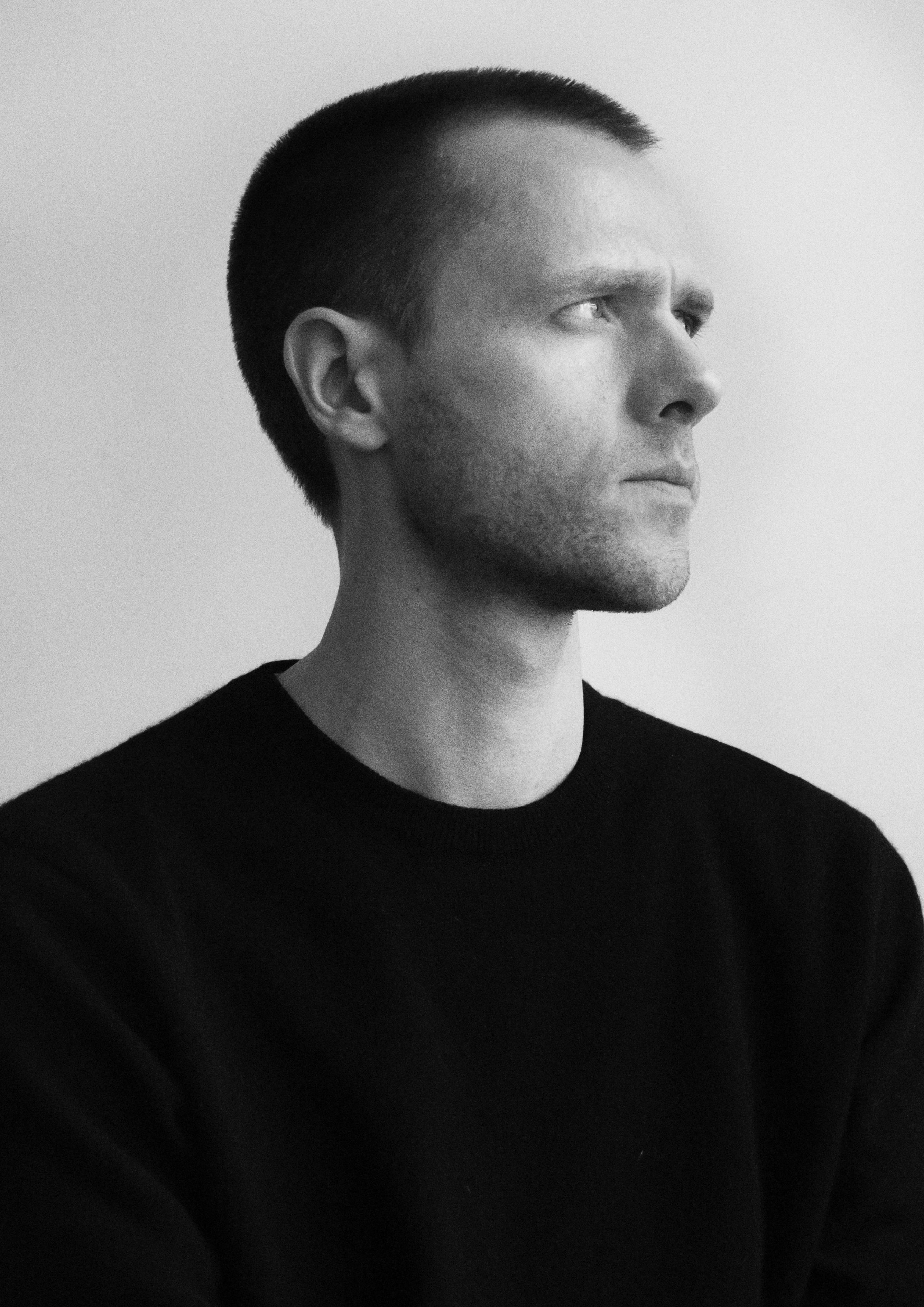 Portrait of Belgian fashion designer and MYKITA collaborator Tim Coppens