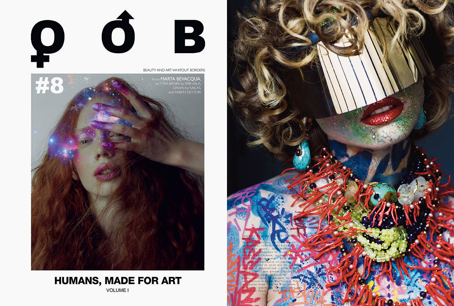 MYKITA & BERNHARD WILLHELM sunglasses DAISUKÉ featured in OOB France