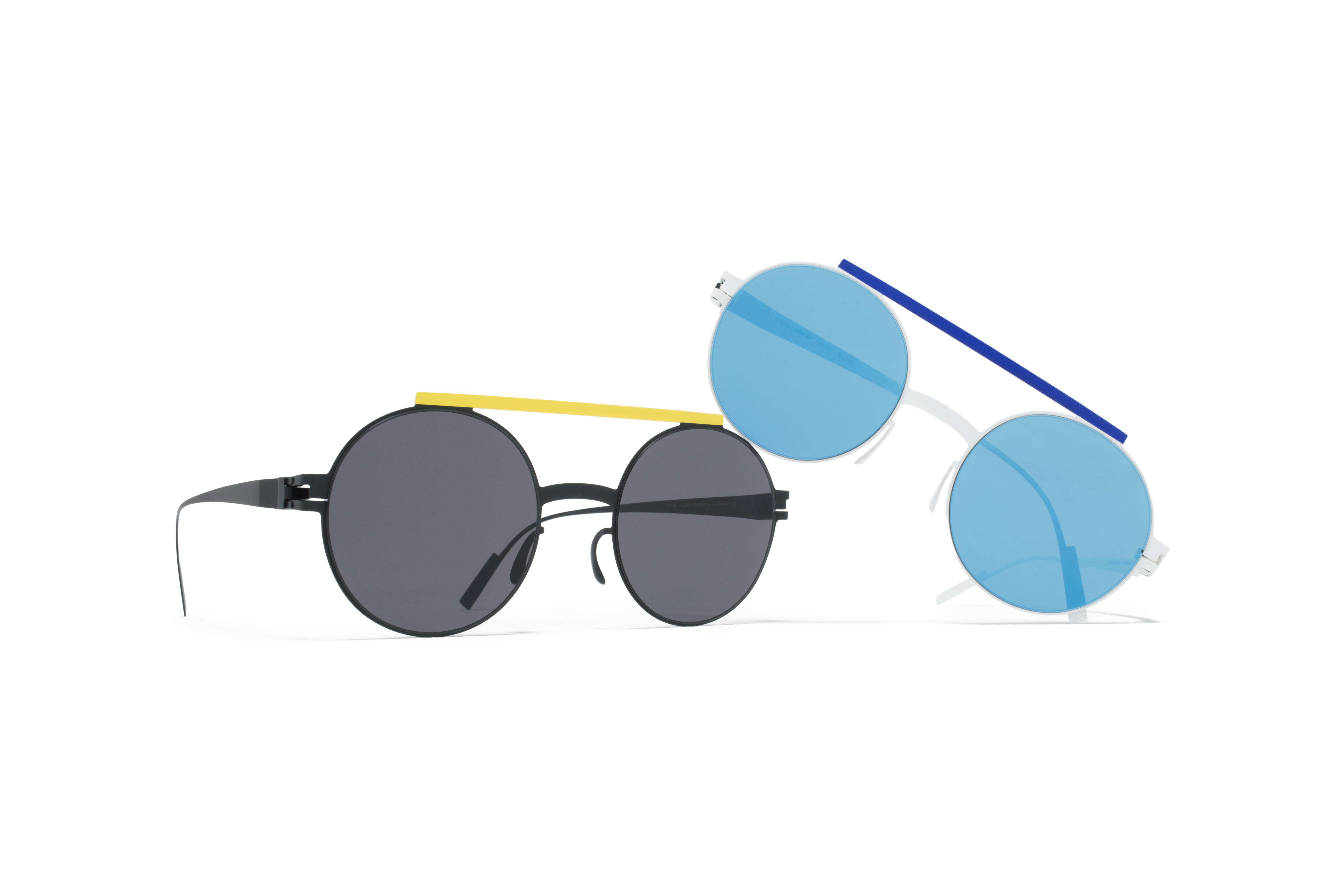 MYKITA Ambush Sun Verbal Black Yellow Silver Blue Couple