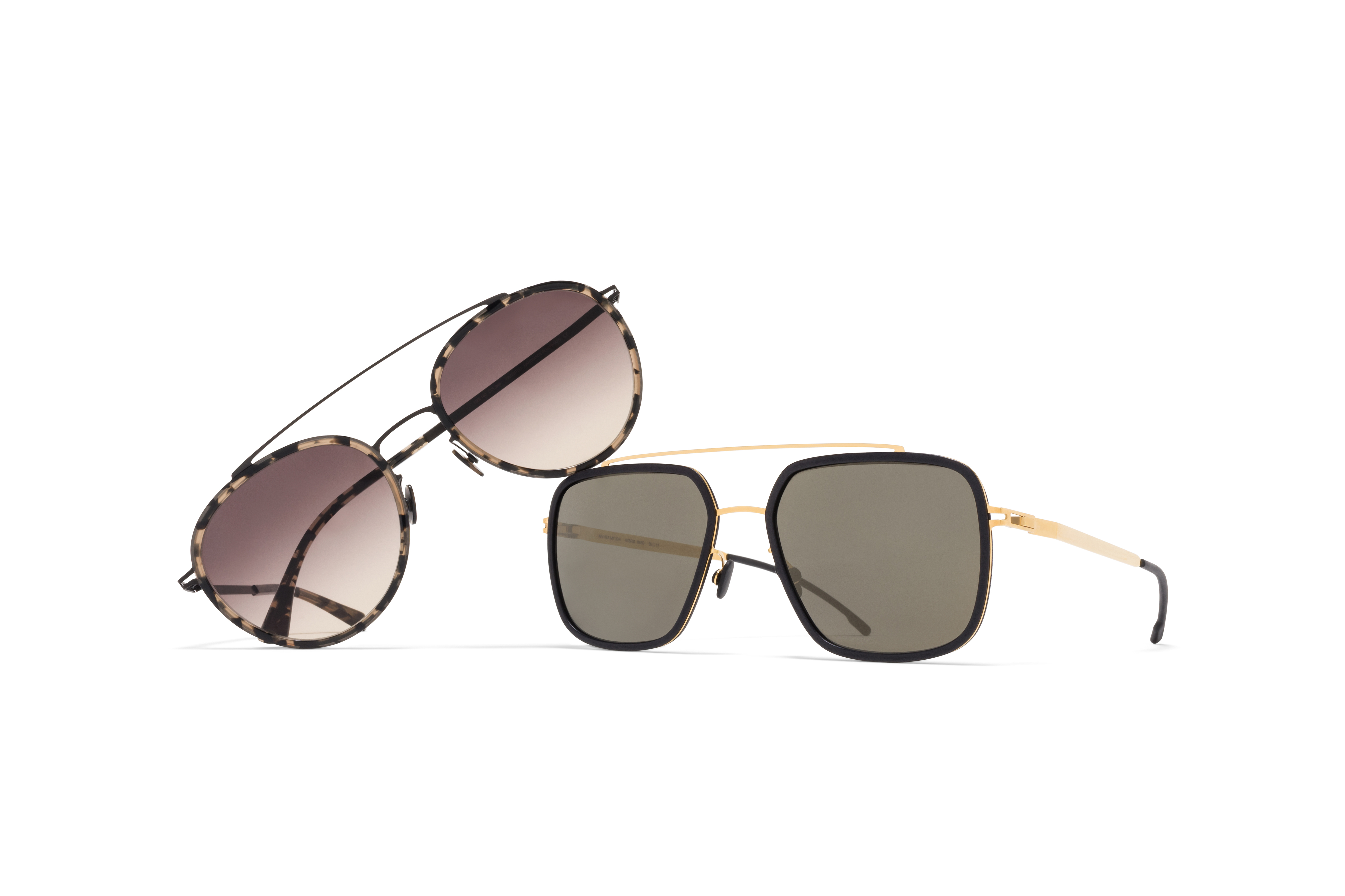 MYKITA Lite Acetate Aviator Sunglasses Meri Reed