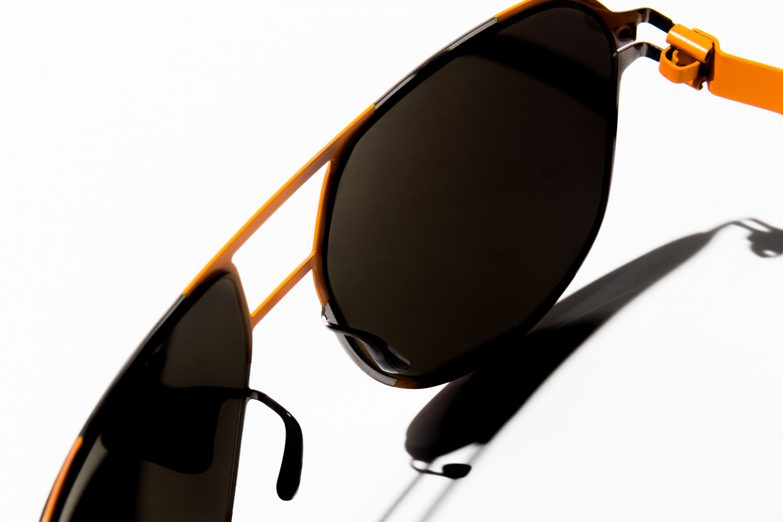 MYKITA For Perlon Perl Sunglasses Orange Detail