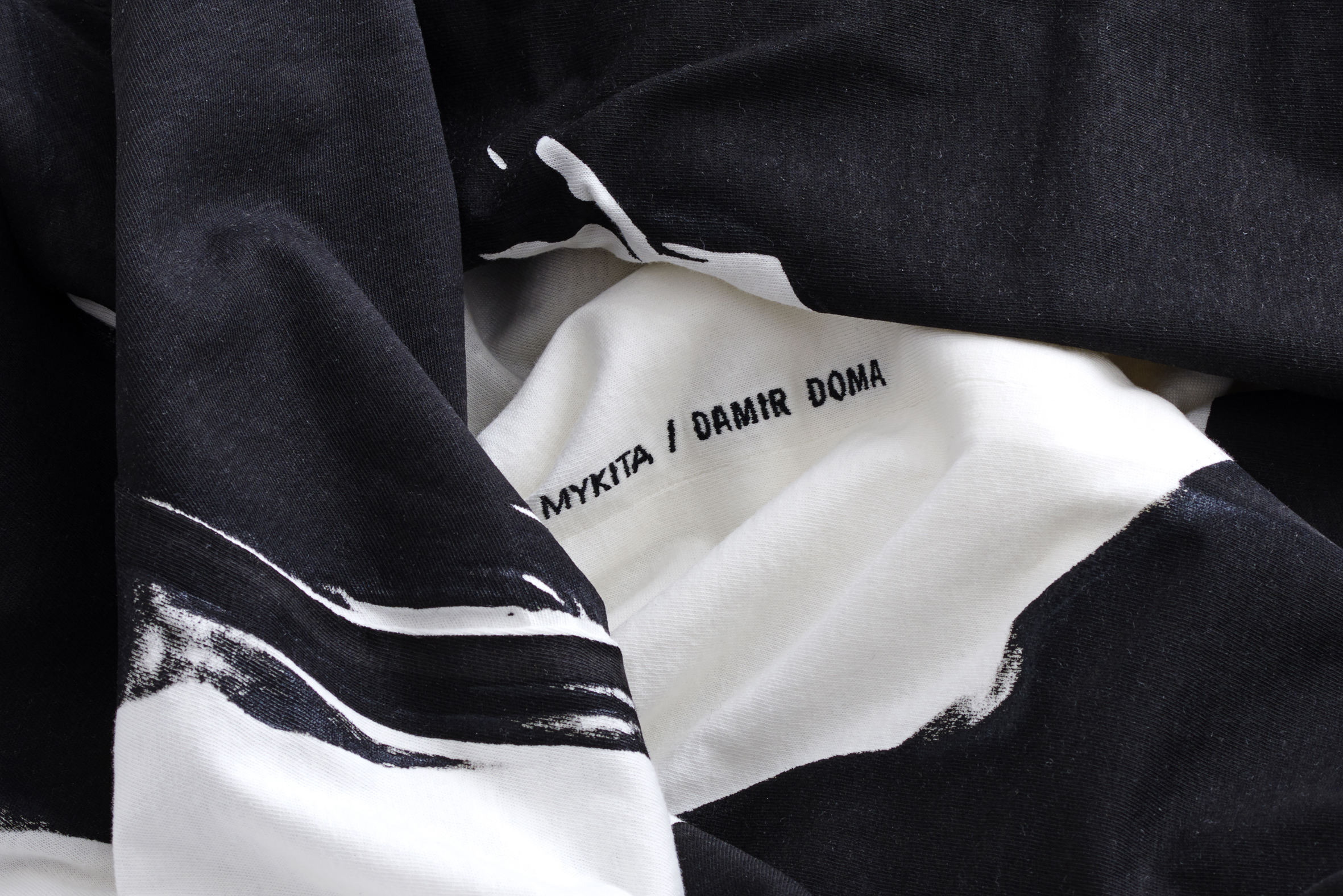 MYKITA Damir Doma Limited Edition Set Tshirt Detail
