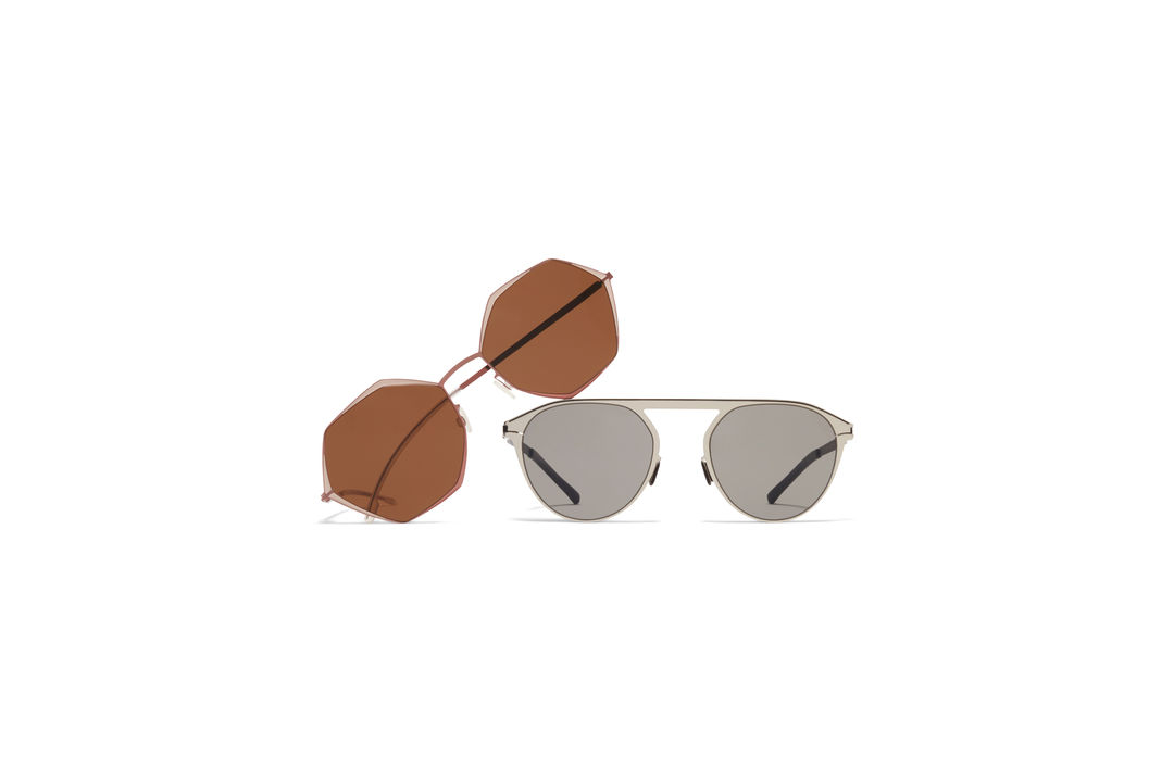 b1e21087ba Metal Sun MYKITA Decades Sun Alessia Purple Bronze Sand Pink Clay Brown  Solid MYKITA No1 Sun