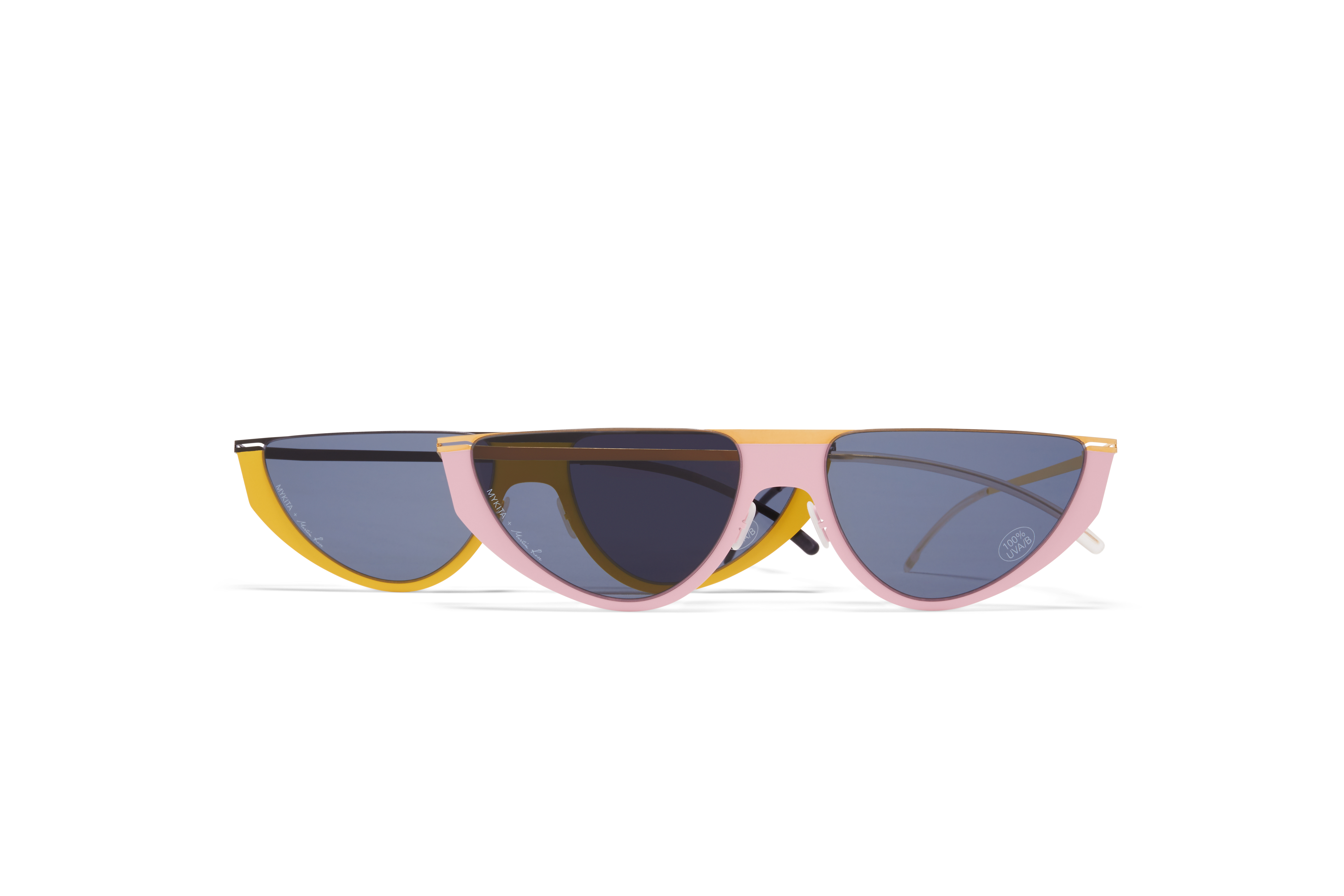 Couple Shot Martine Rose Yellow Pink