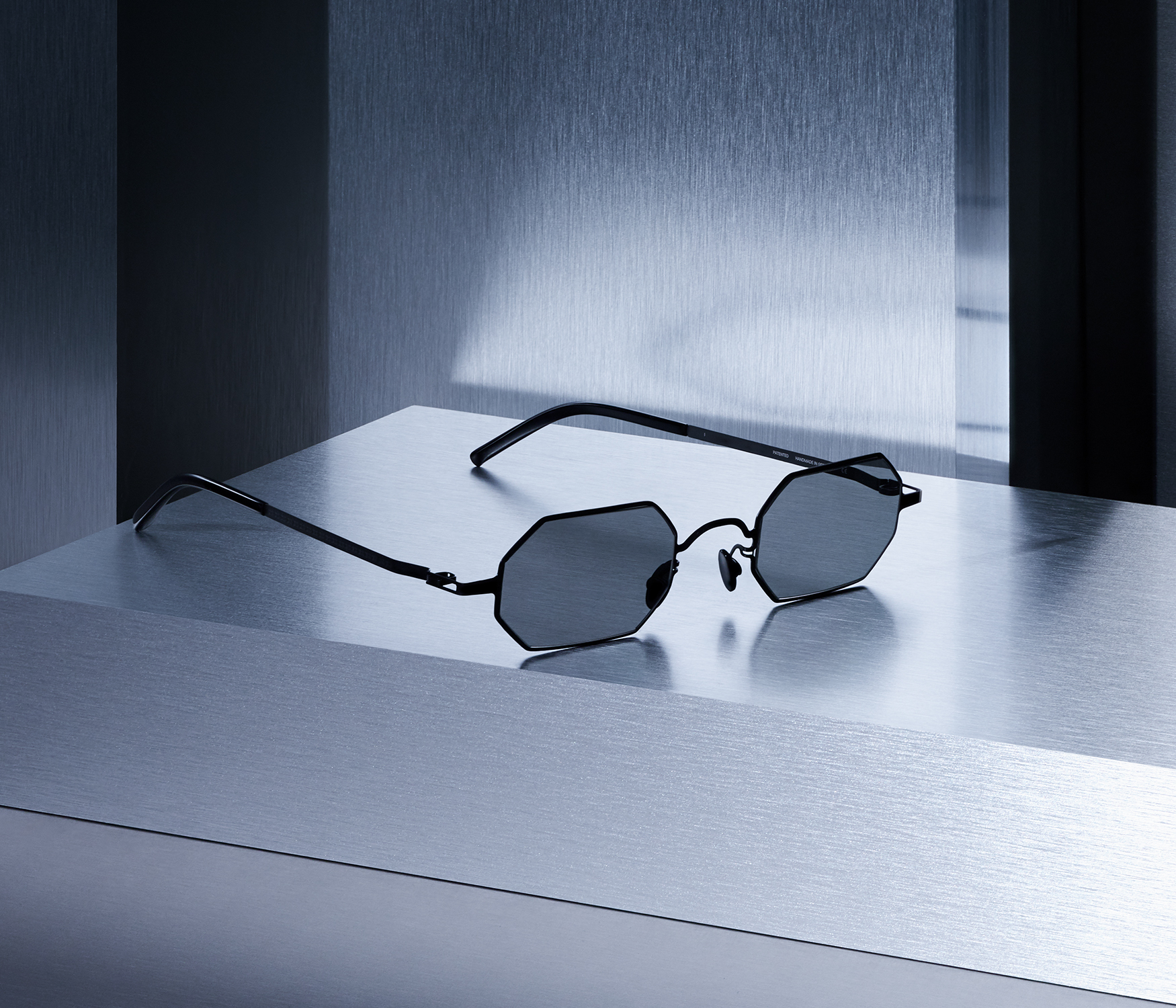 MYKITA Maison Margiela Campaign Mmcraft004 Black Dark Grey Solid Srgb