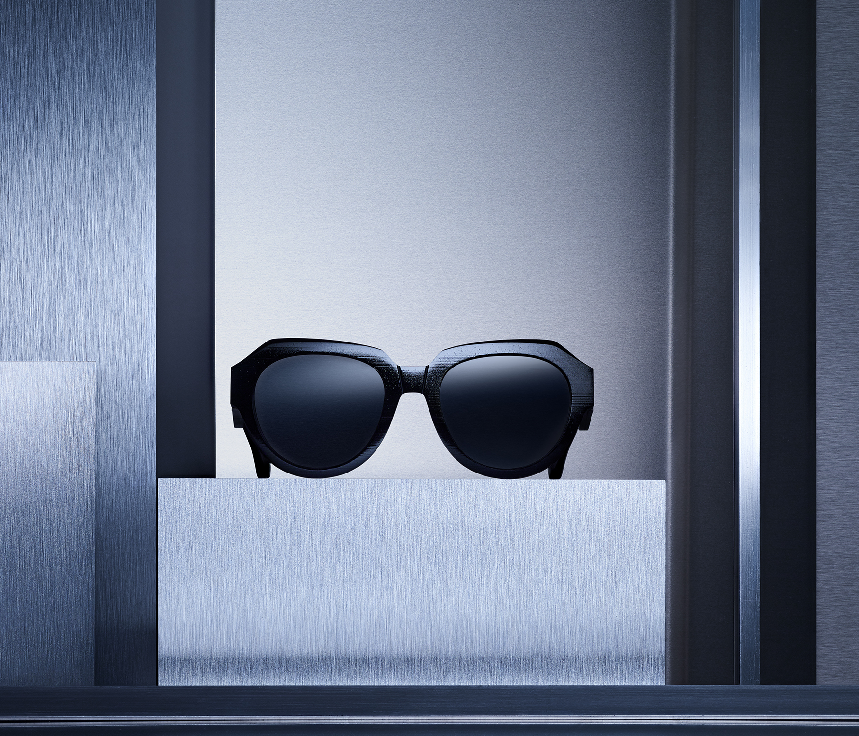 MYKITA Maison Margiela Campaign Mmraw014 Raw Black Dark Grey Solid Srgb