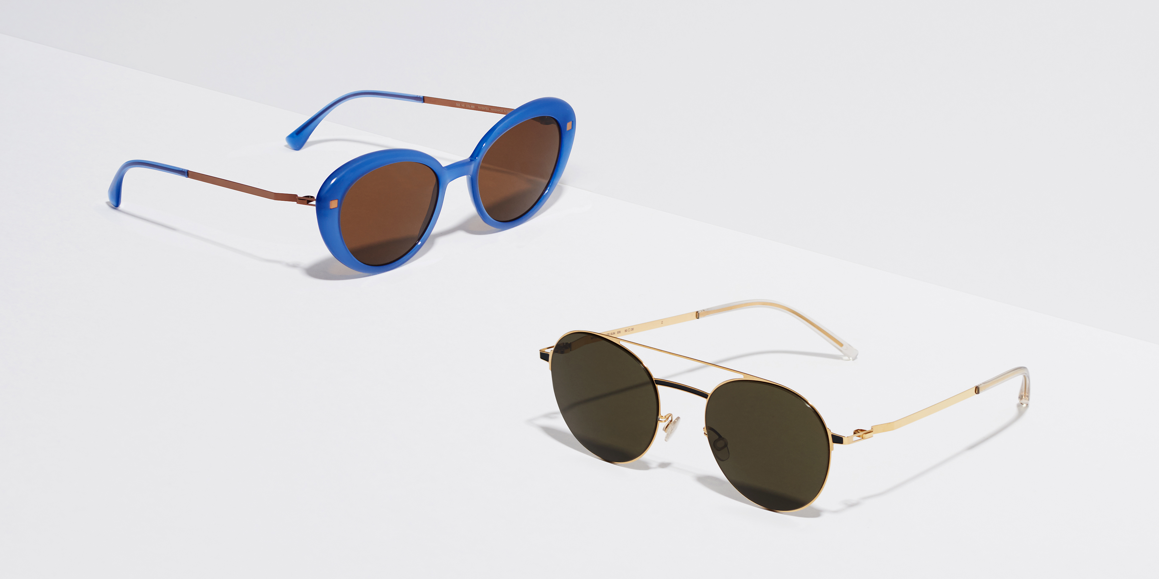 f87e5c715 MYKITA Lite Acetate Sun Luava C88 Misty Blue Shiny Copper Brown Solid  MYKITA Lite Acetate Sun