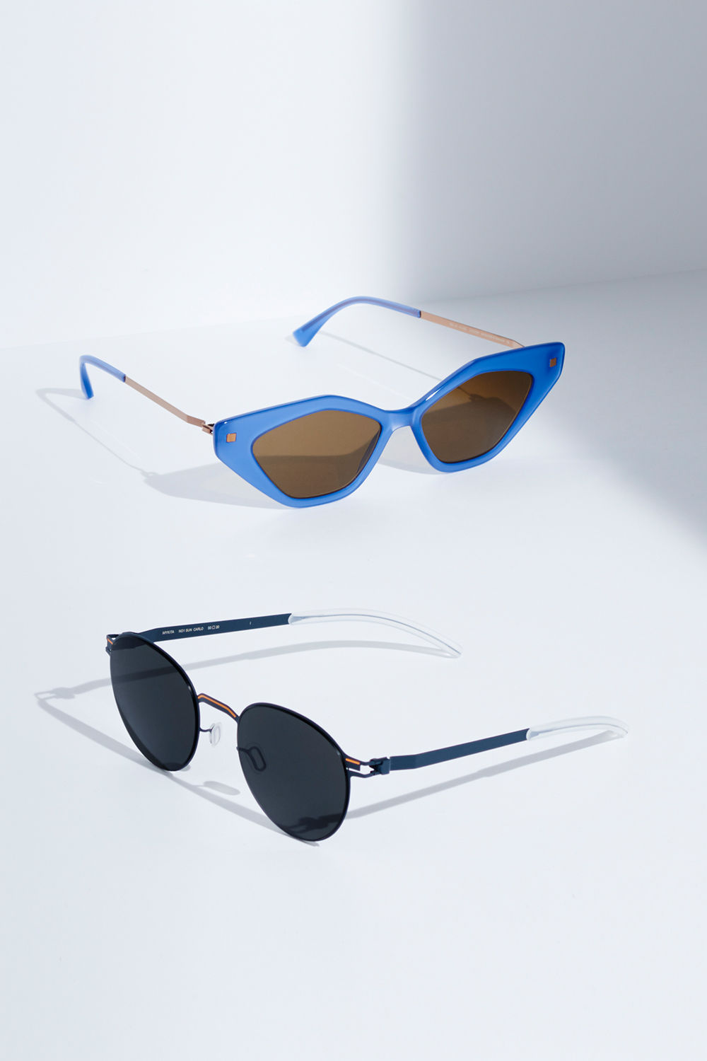 0ea1f0de8 ... MYKITA HANDCRAFTED DESIGNER PRESCRIPTION GLASSES & SUNGLASSES MYKITA  No1 Sun Carlo Indigo Orange Dark Grey Solid MYKITA Lite Acetate Sun Gapi C88  Misty ...