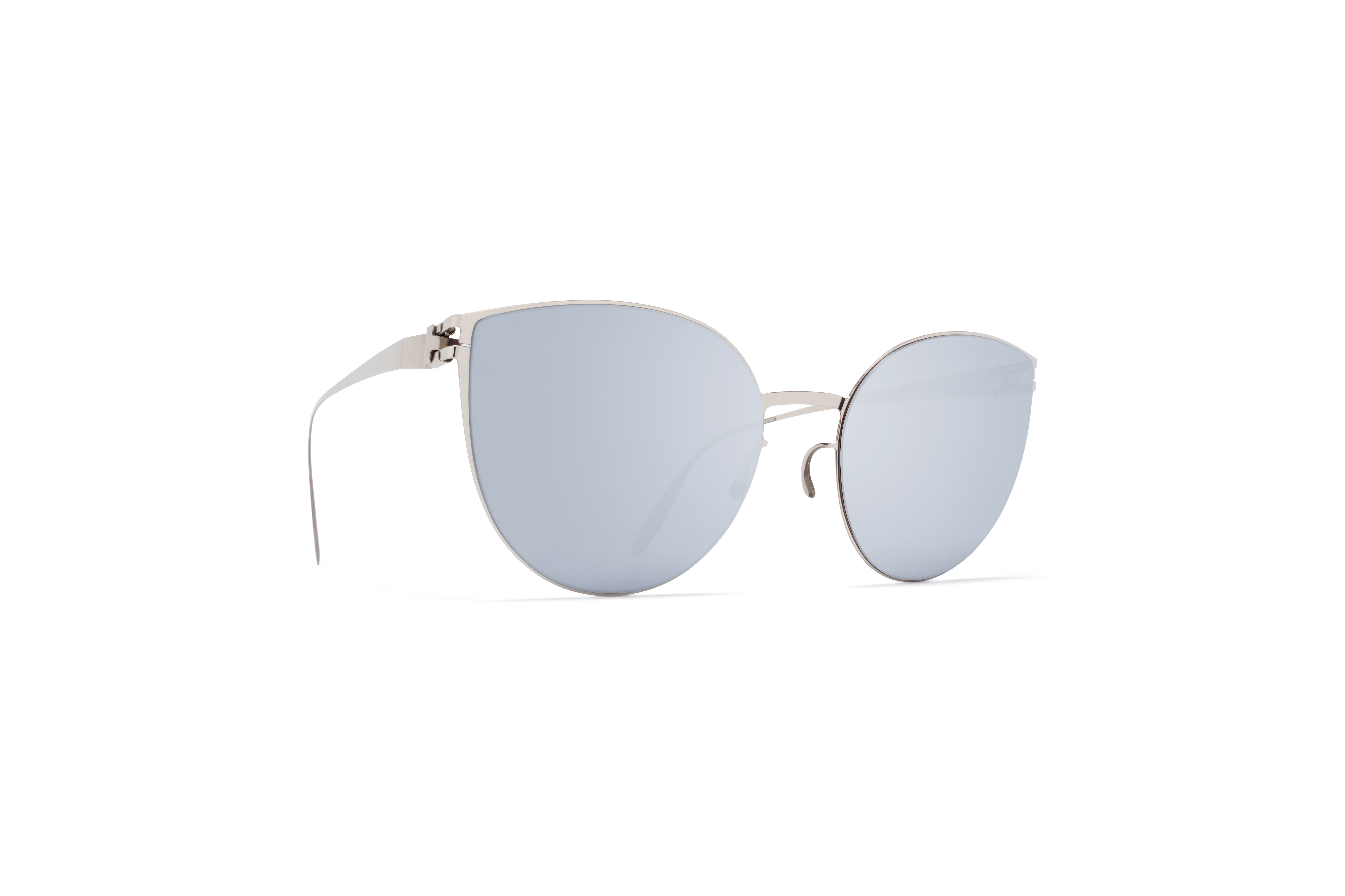 MYKITA Bw Sun Beverly F10 Silver Silver Flash