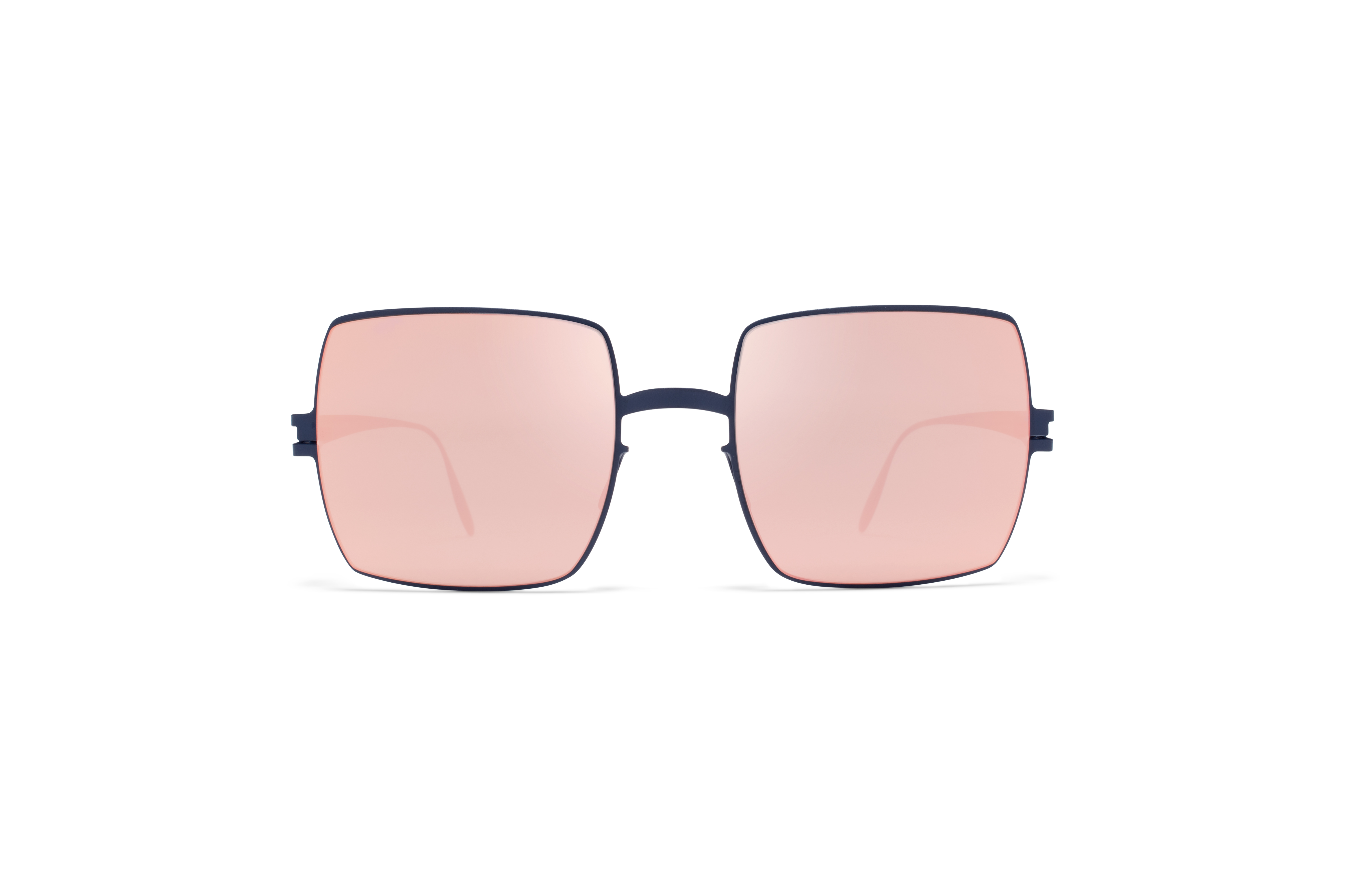 MYKITA Bw Sun Dusty F65 Navy Blue Rose Gold Flash58ab1a02516bc