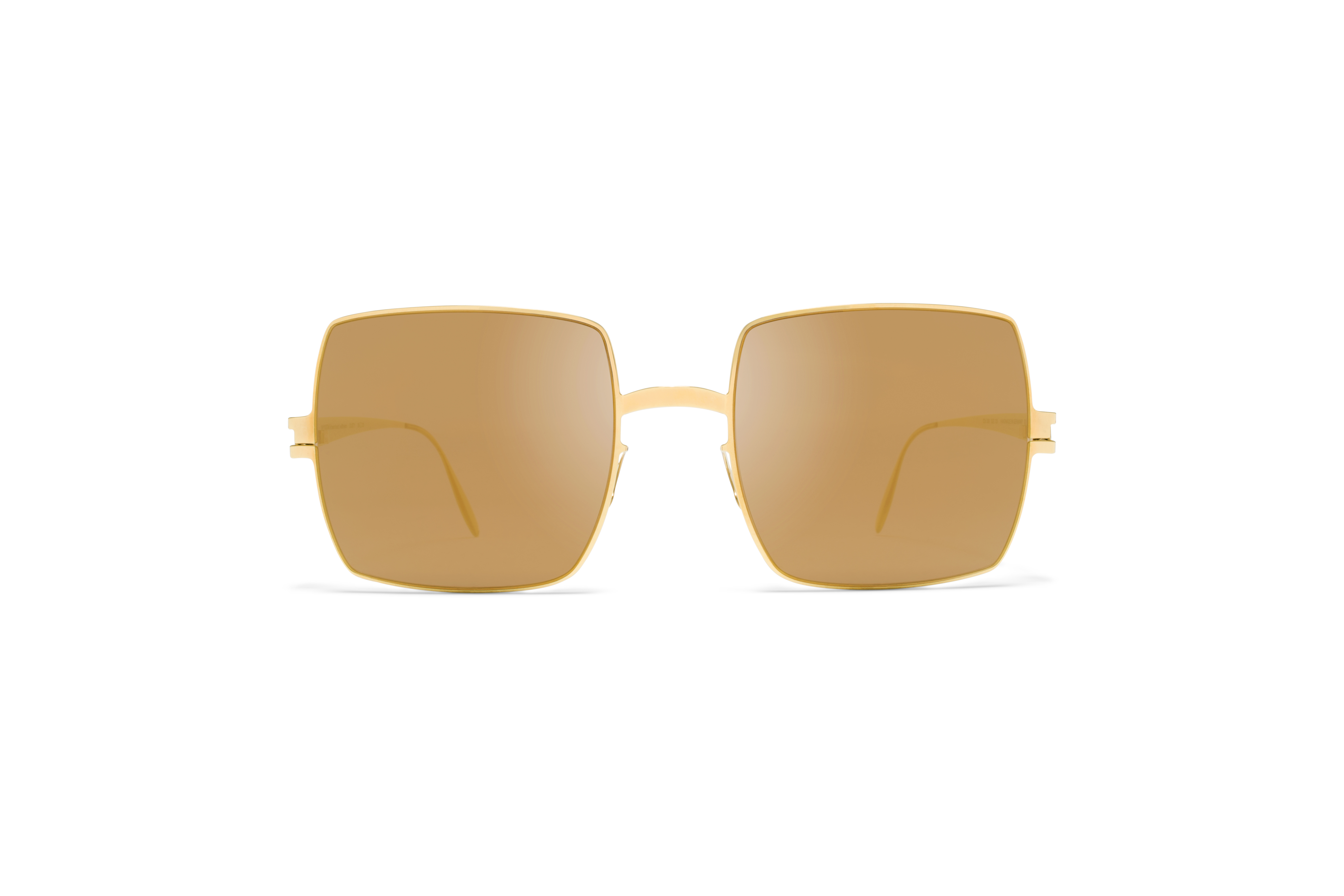 MYKITA Bw Sun Dusty F9 Gold Gold Flash