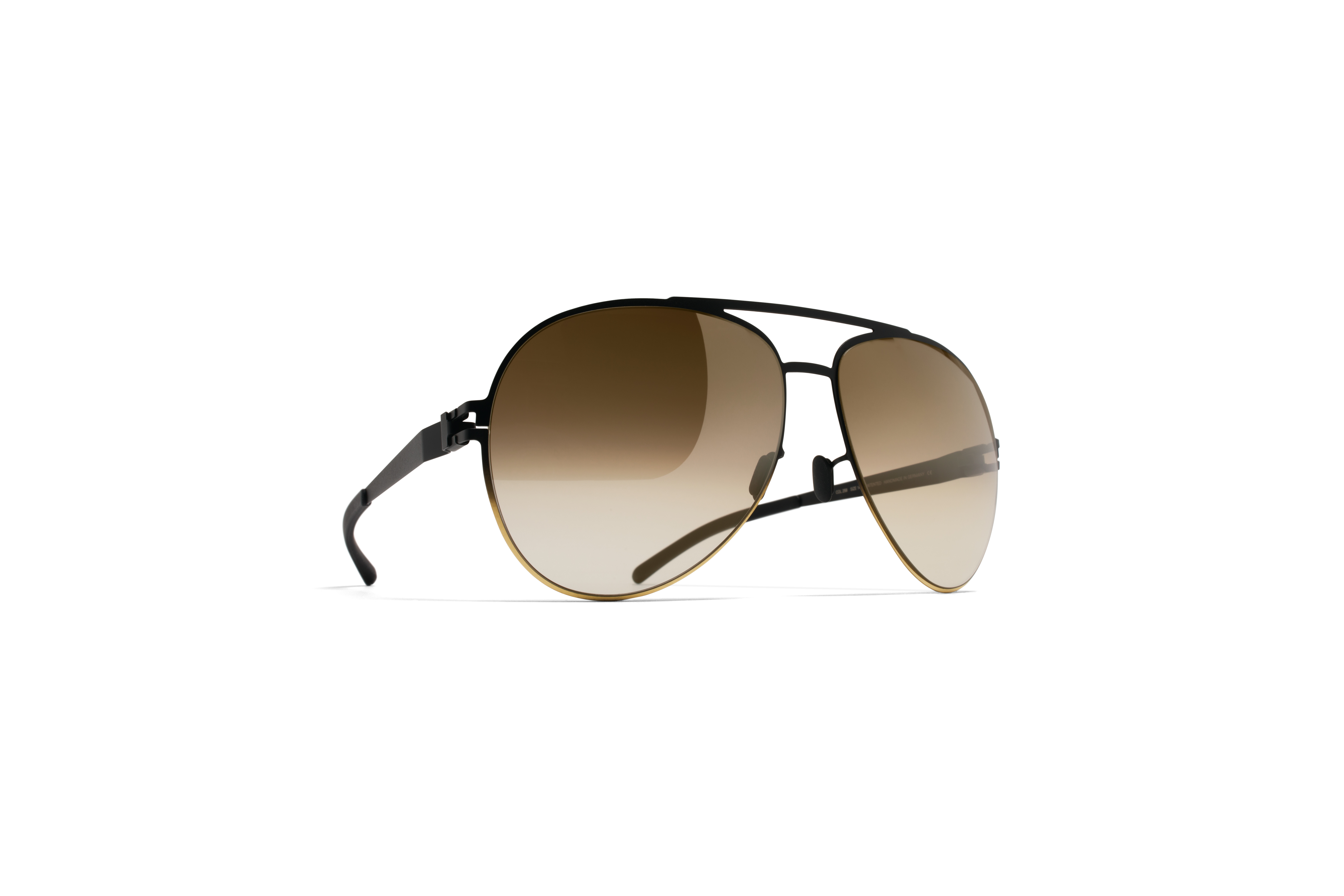 MYKITA Bw Sun Erwin F67 Black Gold Brown Gradient56fbf77e0f00b
