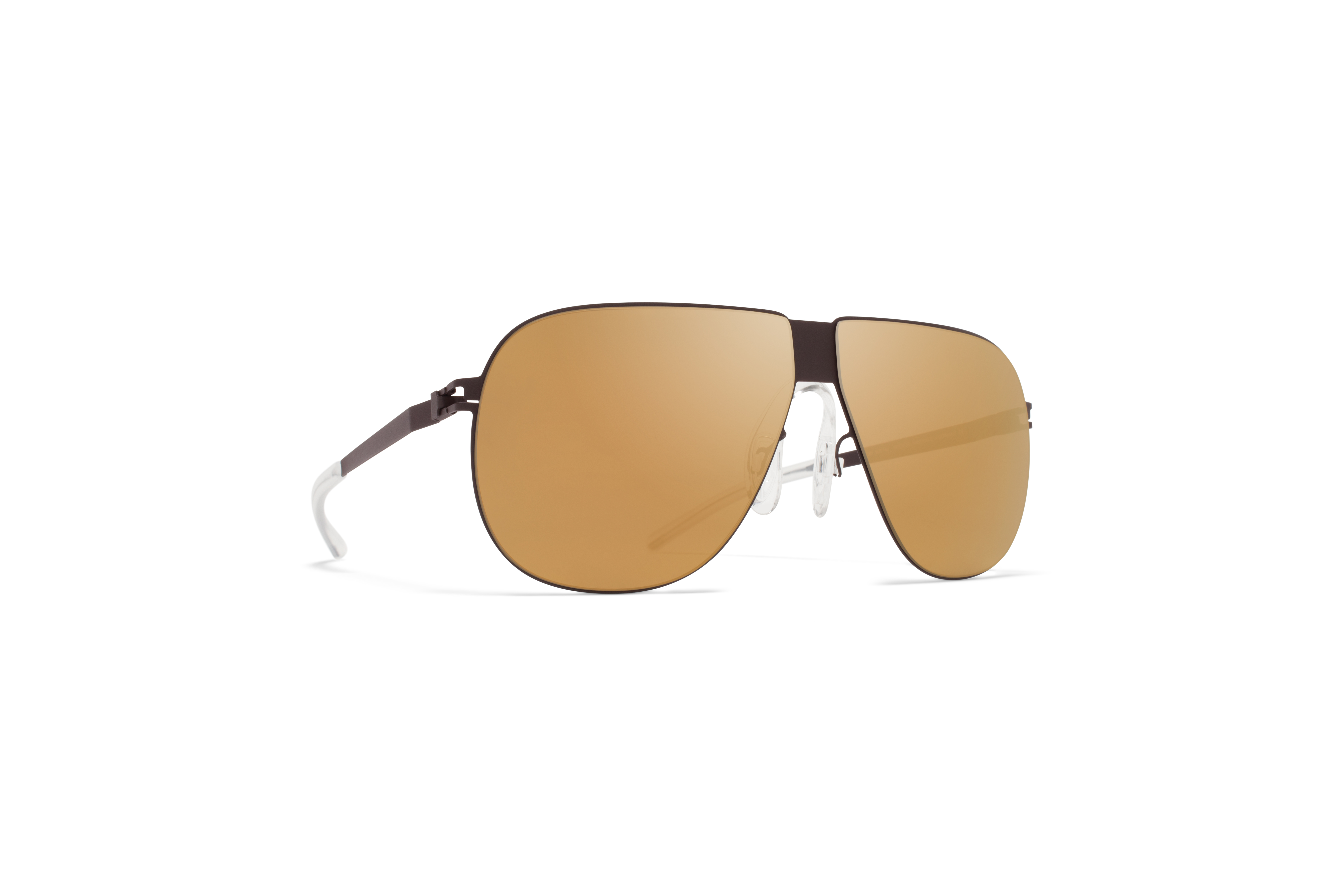 MYKITA Bw Sun Ferdl F70 Ebony Brown Gold Flash