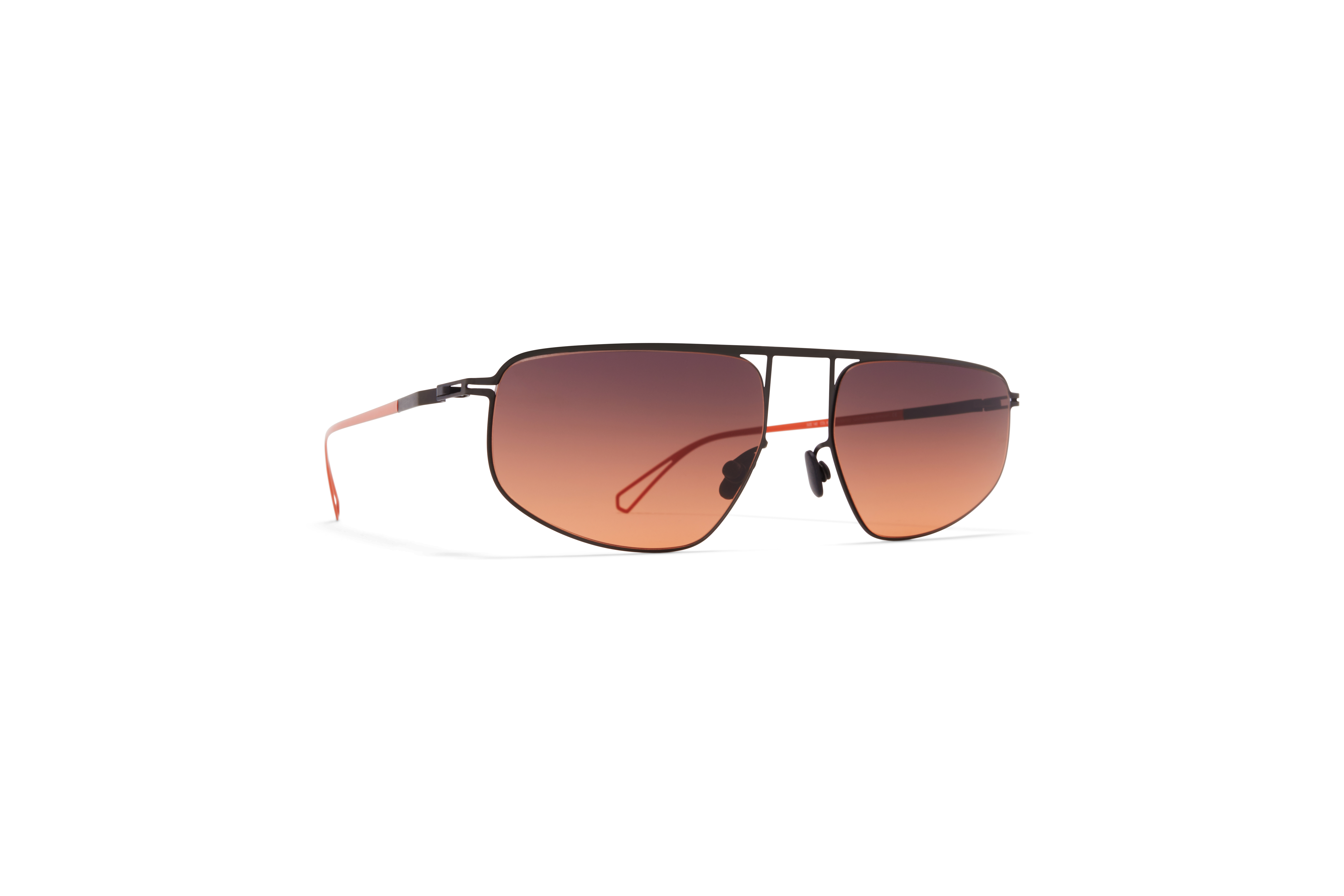MYKITA Bw Sun Nat C62 Black Pow11 Black Orange Gradient
