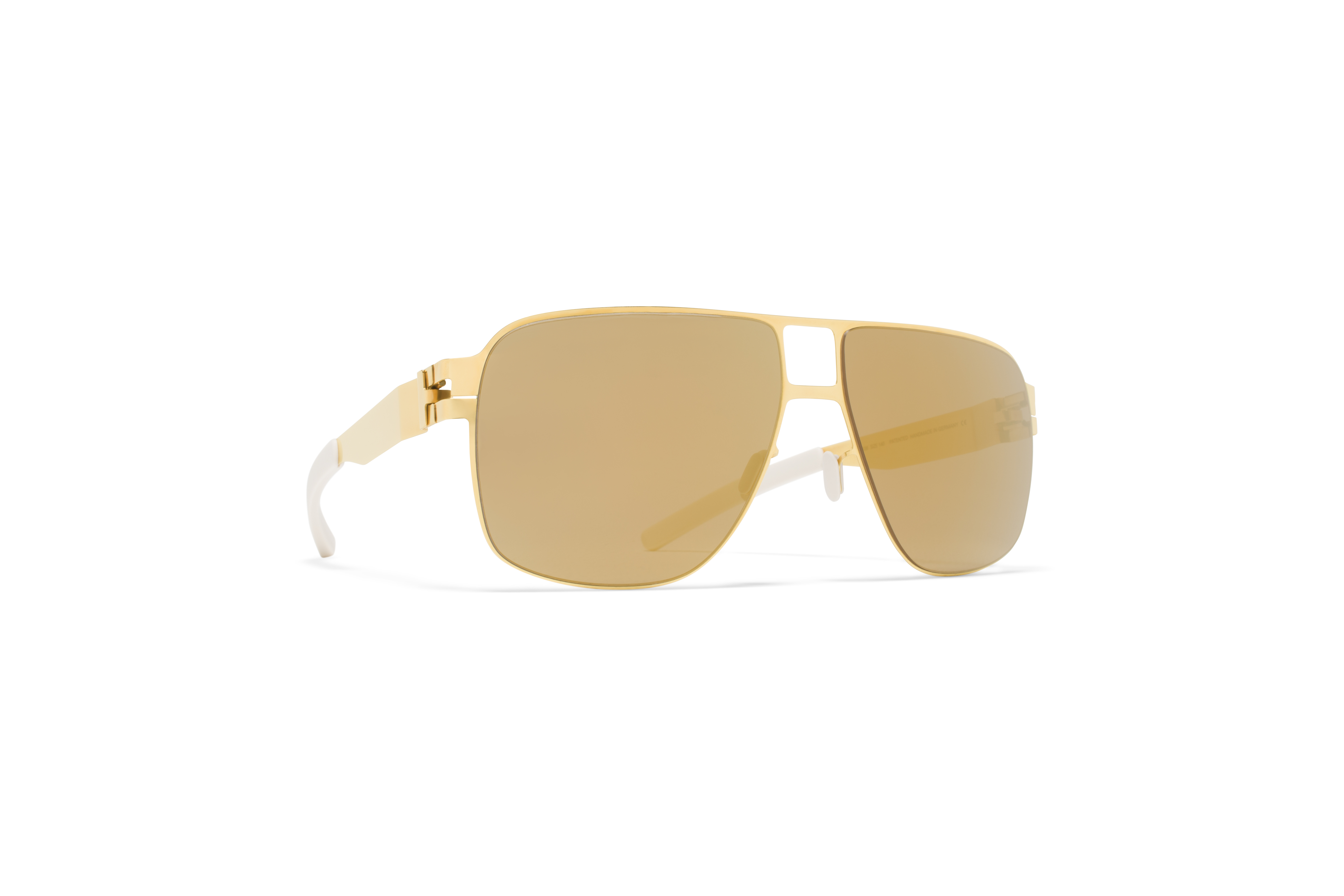 MYKITA Bw Sun Poldi F9 Gold Gold Flash