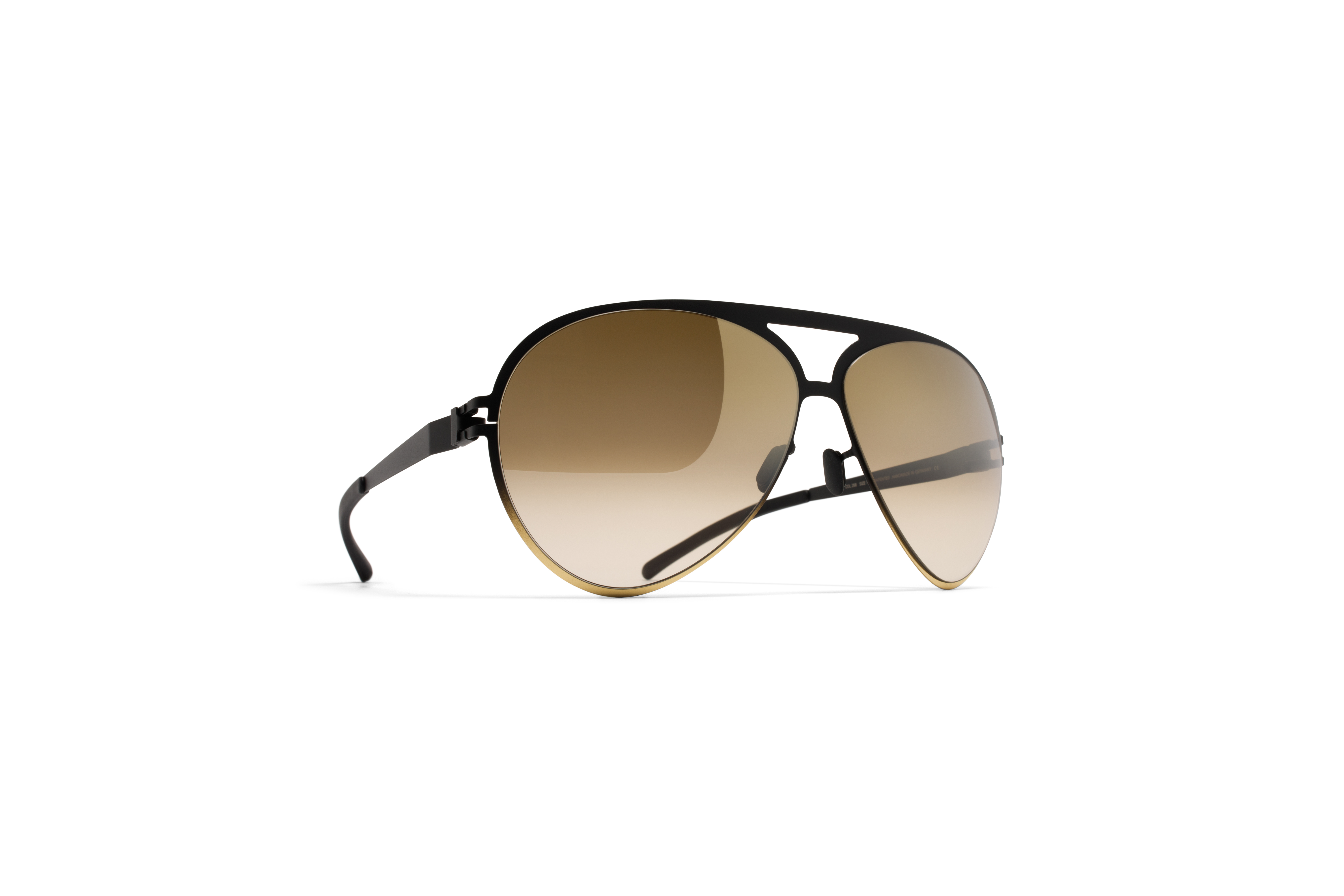 MYKITA Bw Sun Sepp F67 Black Gold Brown Gradient F56fbf6e6102d3