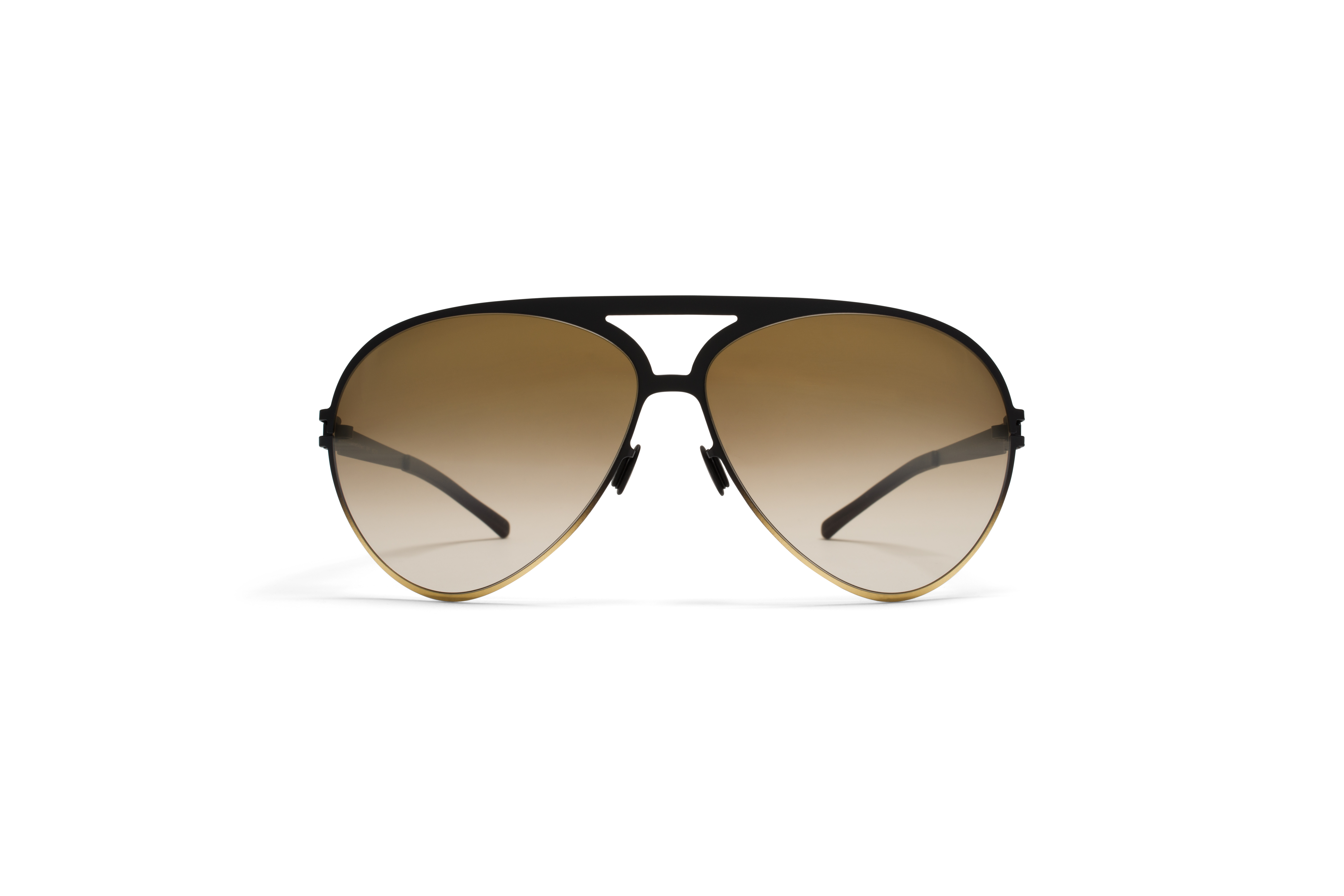 MYKITA Bw Sun Sepp F67 Black Gold Brown Gradient F56fbf6f25fbe0
