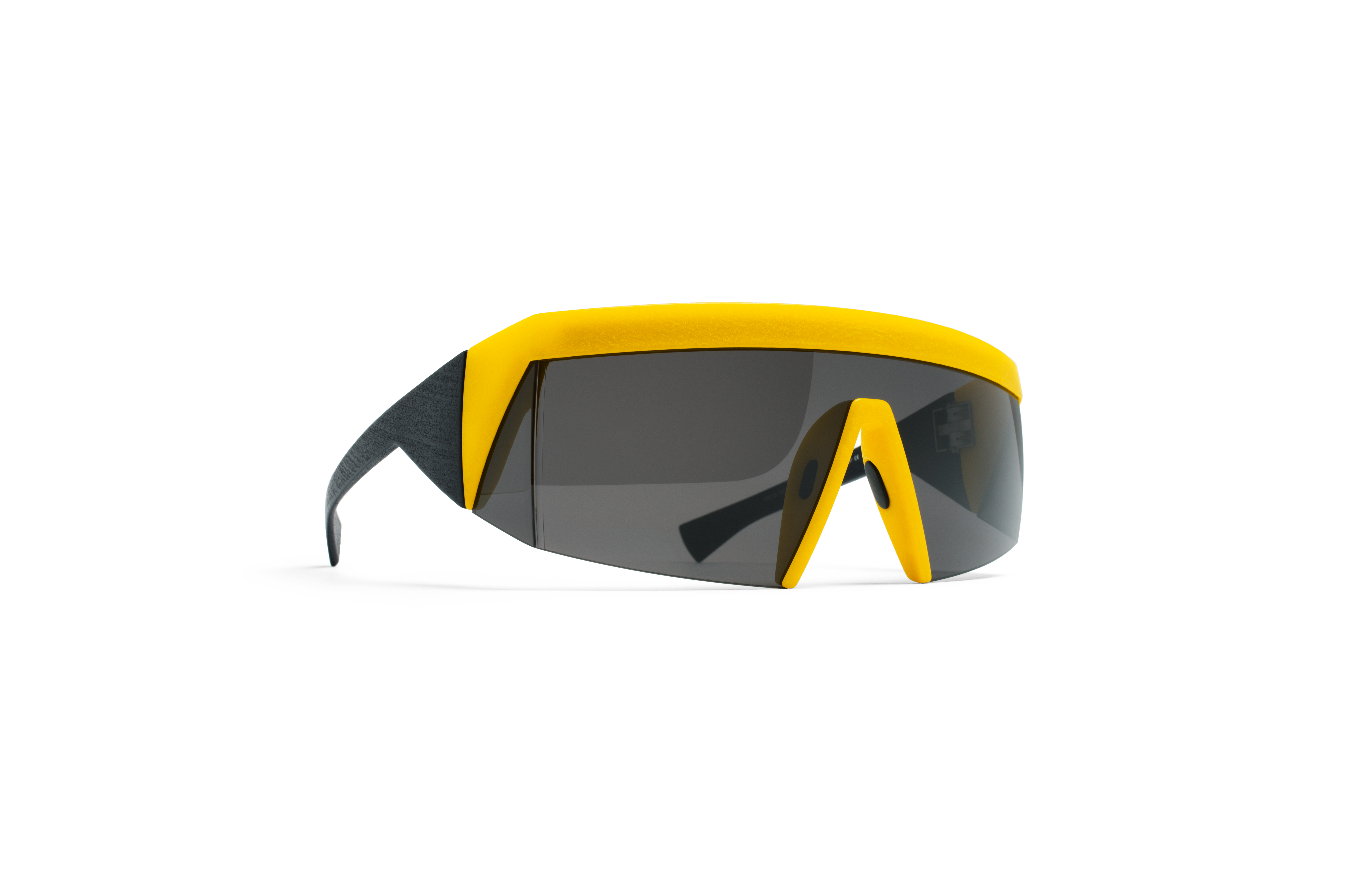 MYKITA Bw Sun Vice Mm9 Black Yellow Lateral Grey