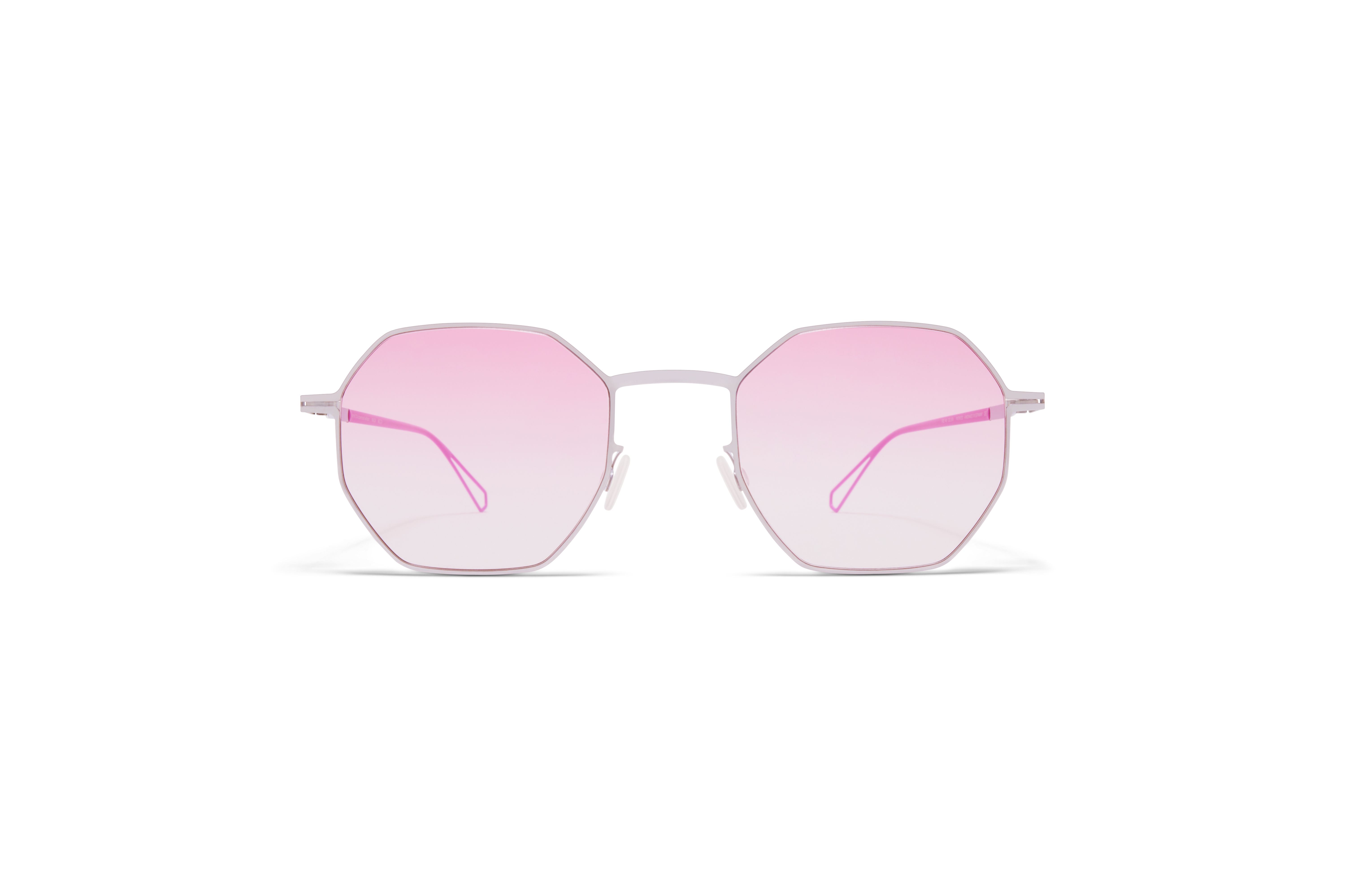 MYKITA Bw Sun Walsh C81 Chrome Barbie Lilac Jelly Pink Gradient