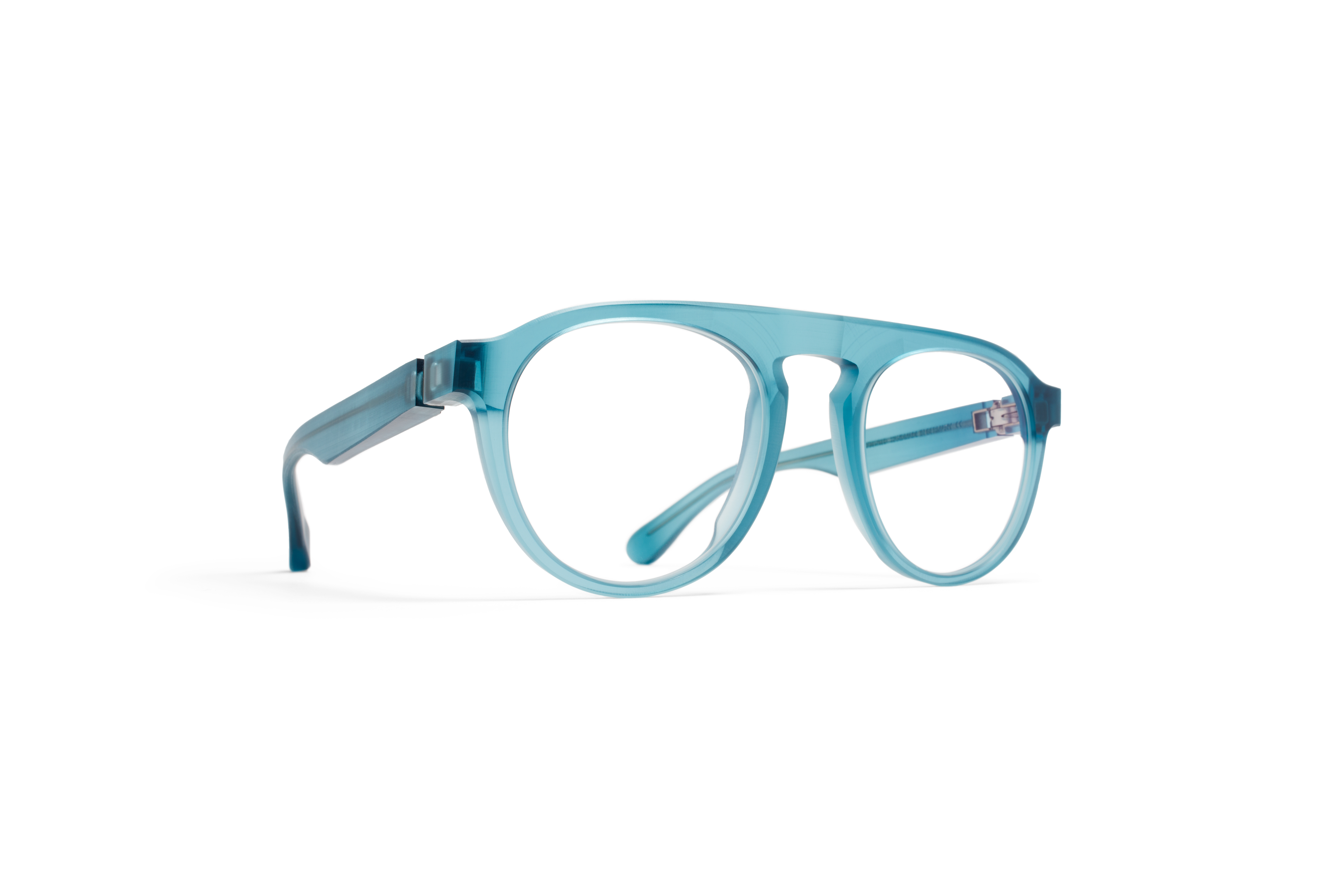 MYKITA Collaborations Mmraw001 Raw Turquoise Clear