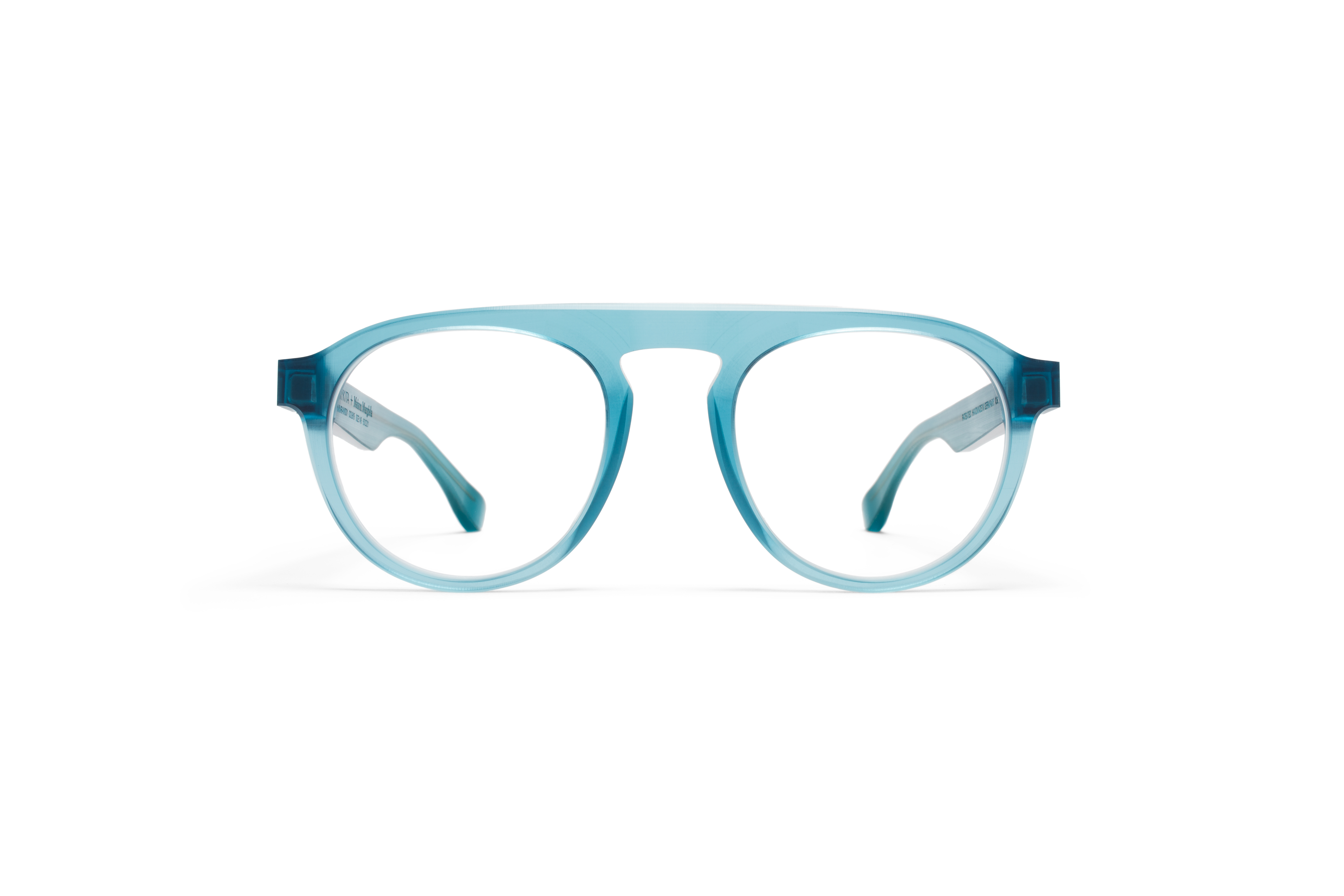 MYKITA Collaborations Mmraw001 Raw Turquoise Clear57584970c4336