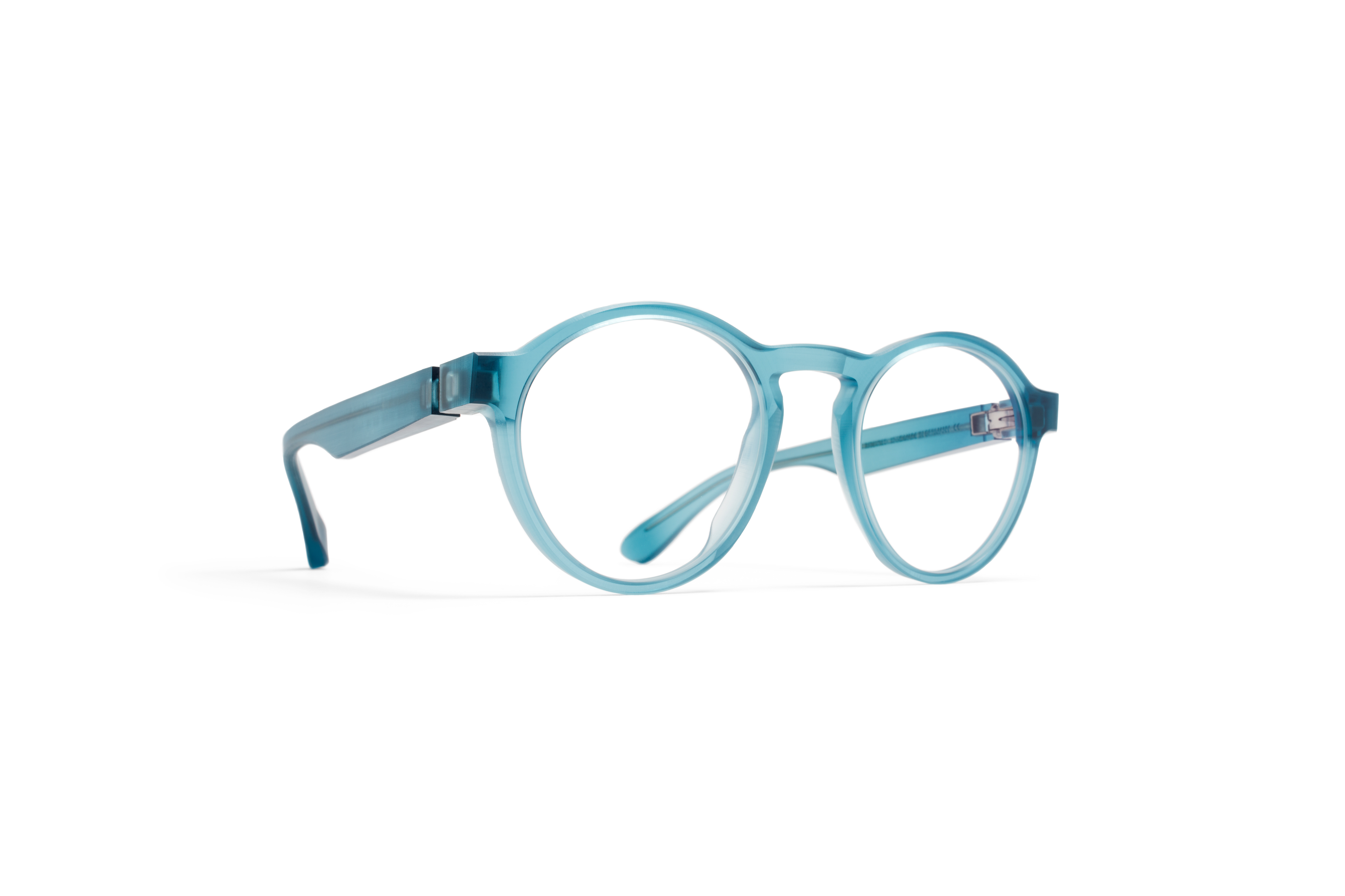 MYKITA Collaborations Mmraw002 Raw Turquoise Clear