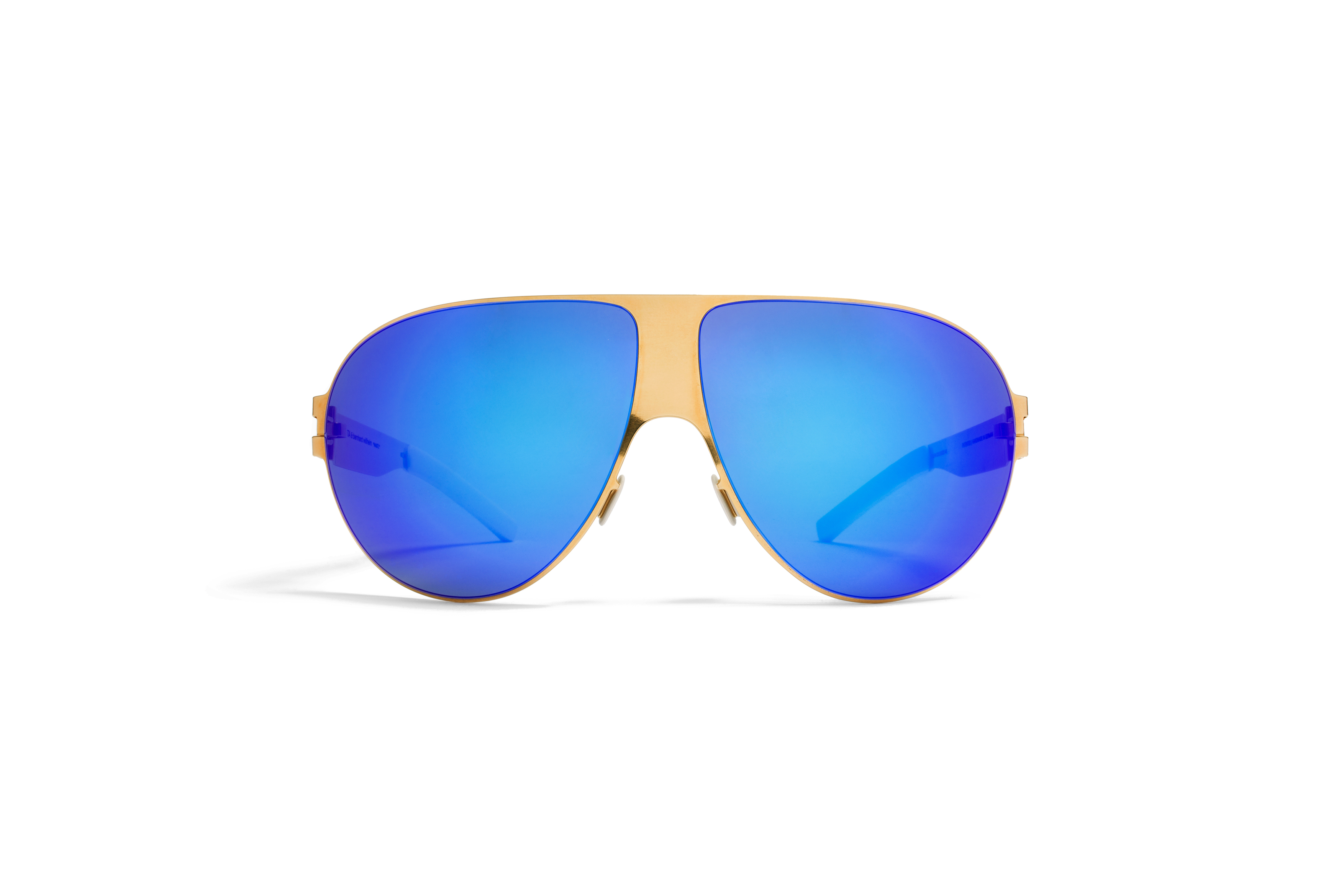 MYKITA Collbw Sun Wastl F9 Gold Azure Flash