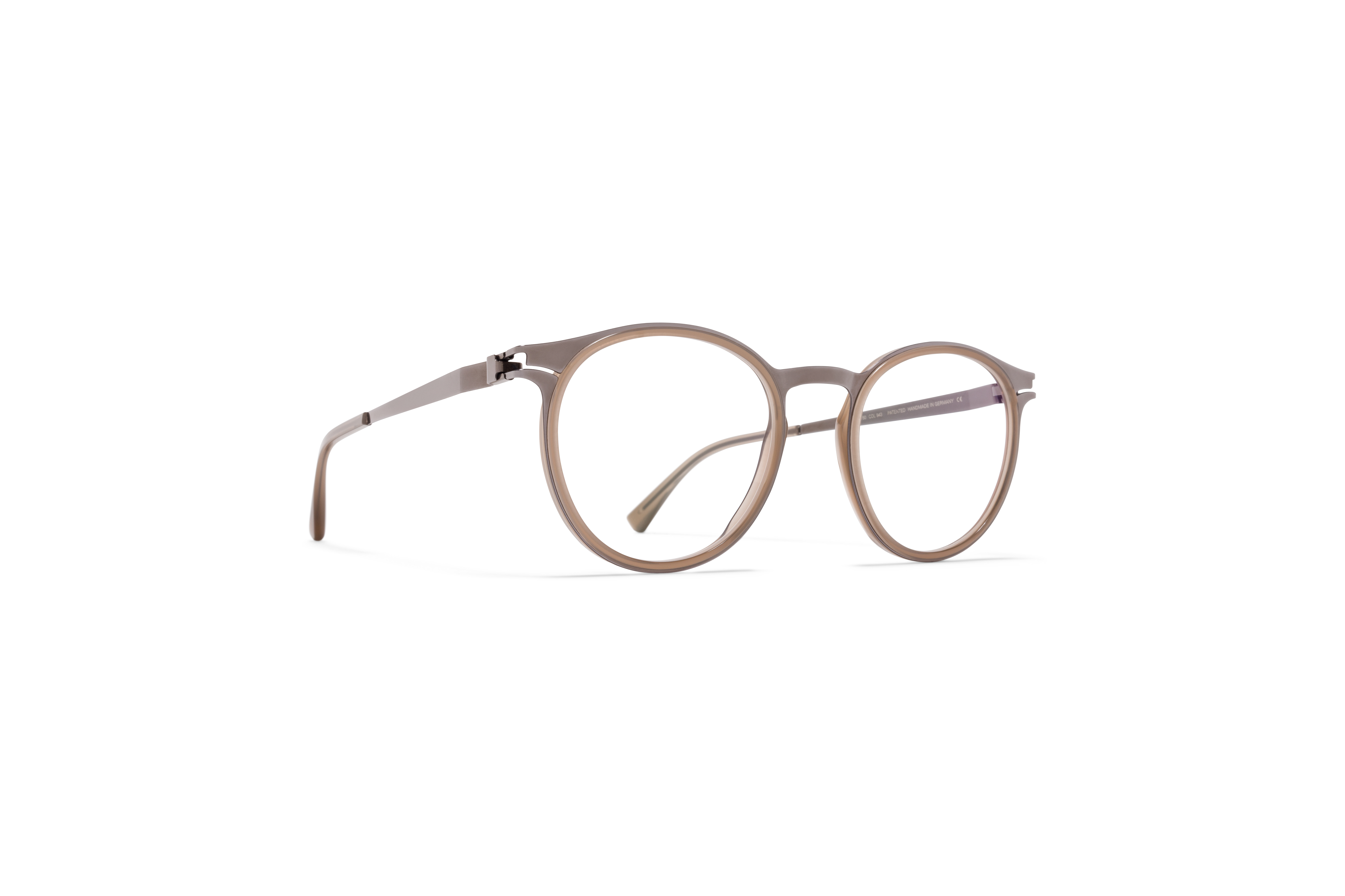 MYKITA Dd Rx Dd2 A13 Shiny Graphite Taupe Clear59fc3945dca70