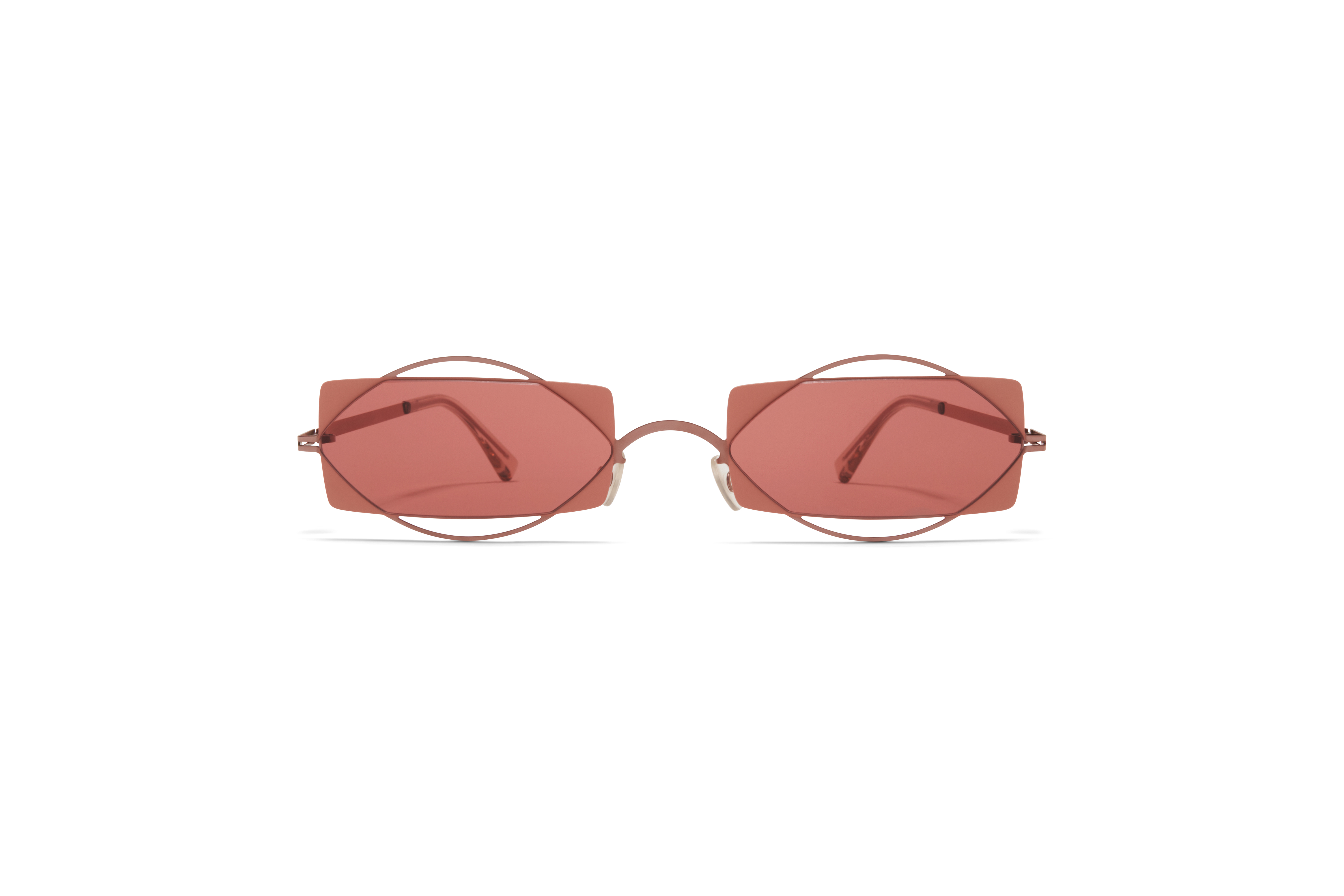 MYKITA Dd Sun Charlotte Purple Bronze Pink Clay Purple Solid