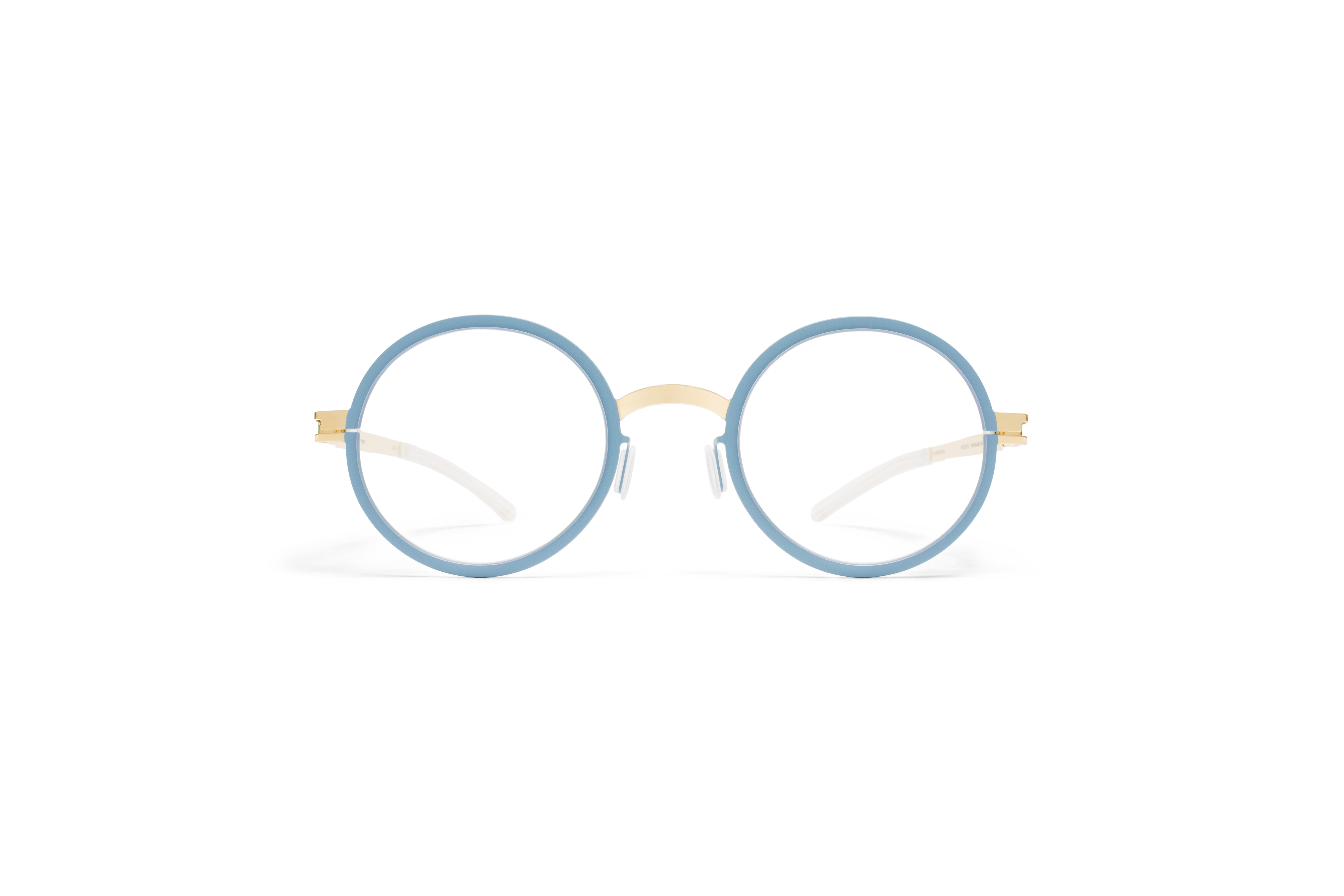 MYKITA Decades Rx Bibi Gold Bluegrey Clear