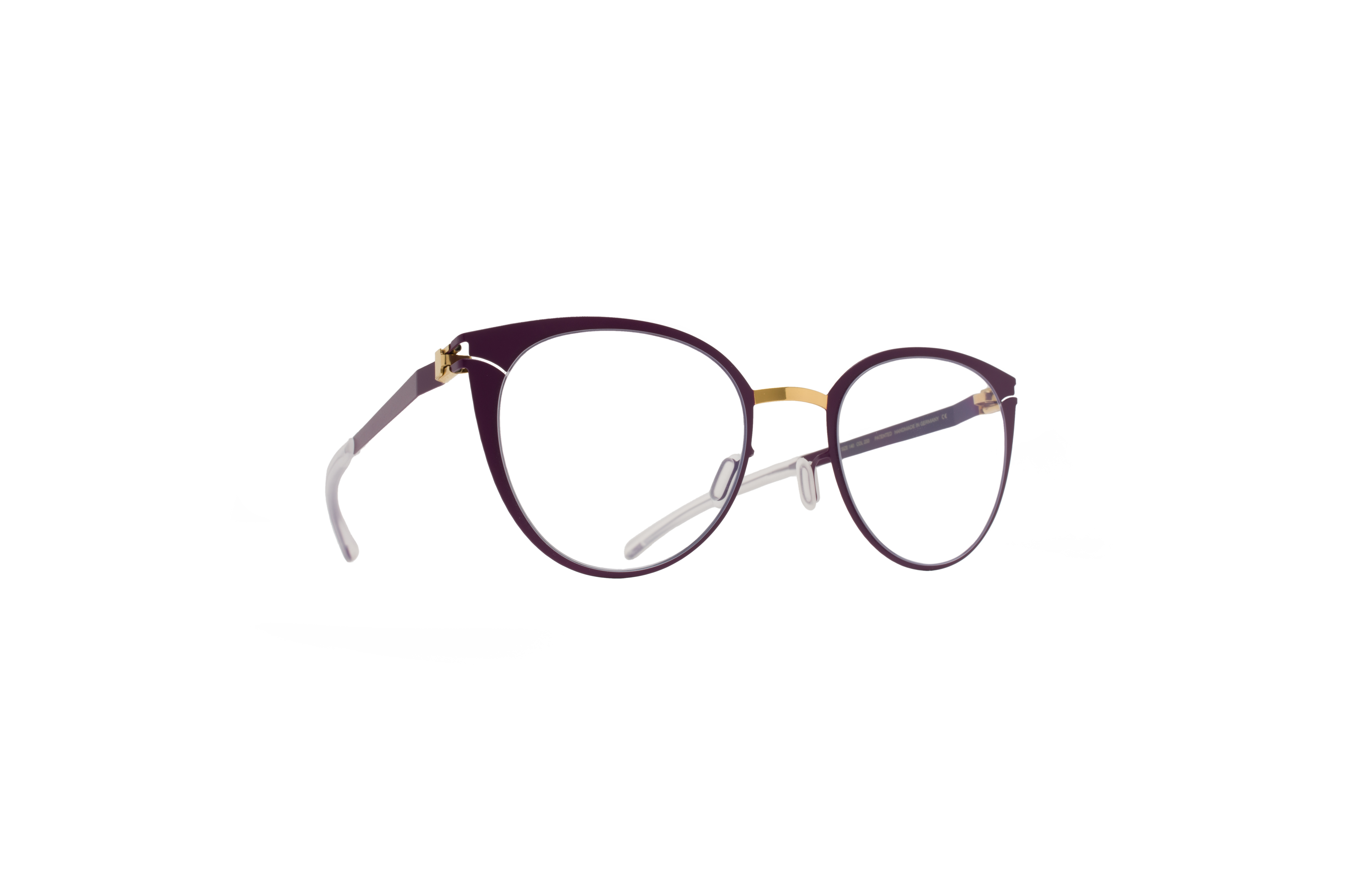MYKITA Decades Rx Carole Gold Purpleviolet Clear