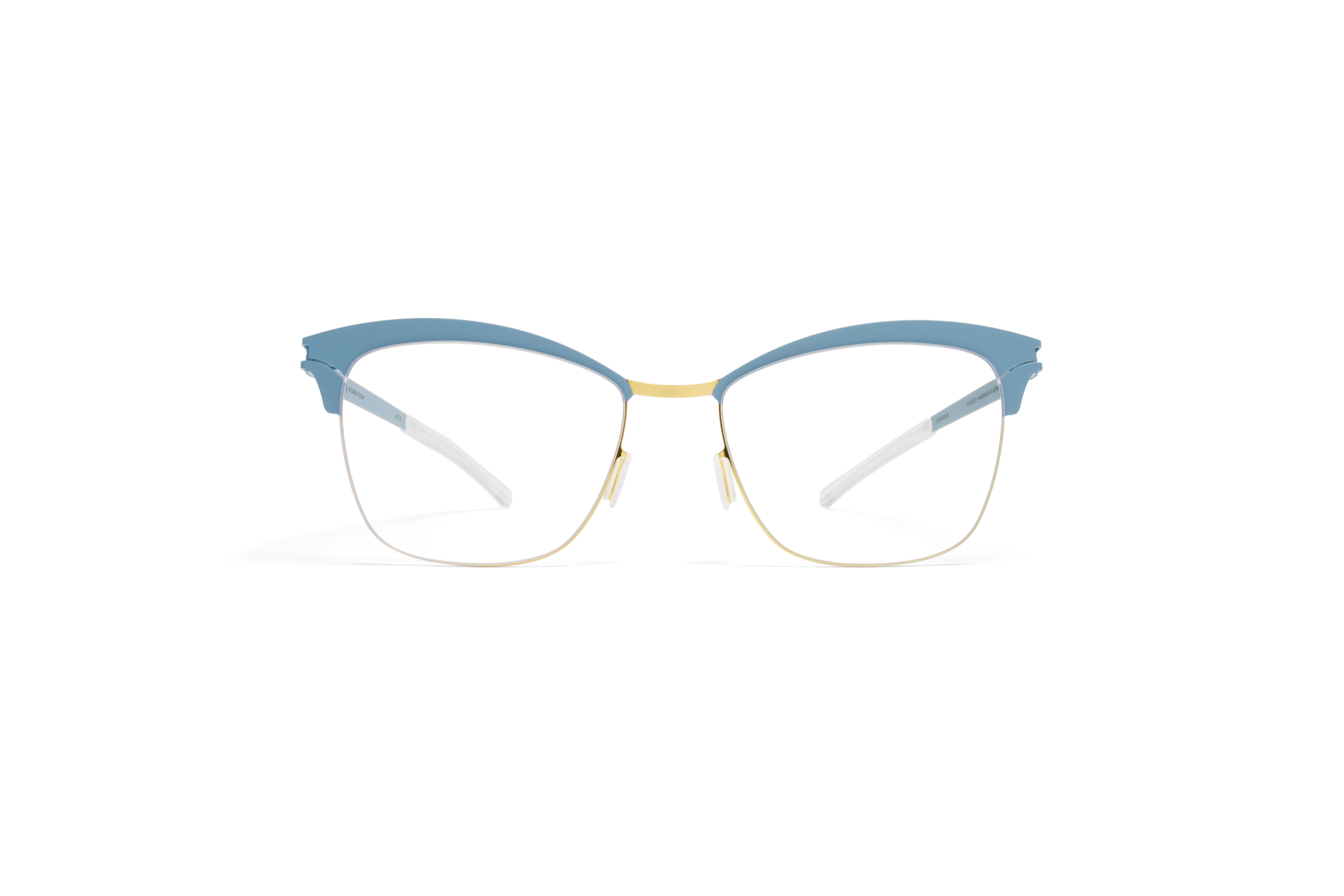 MYKITA Decades Rx Celia Gold Bluegrey Clear