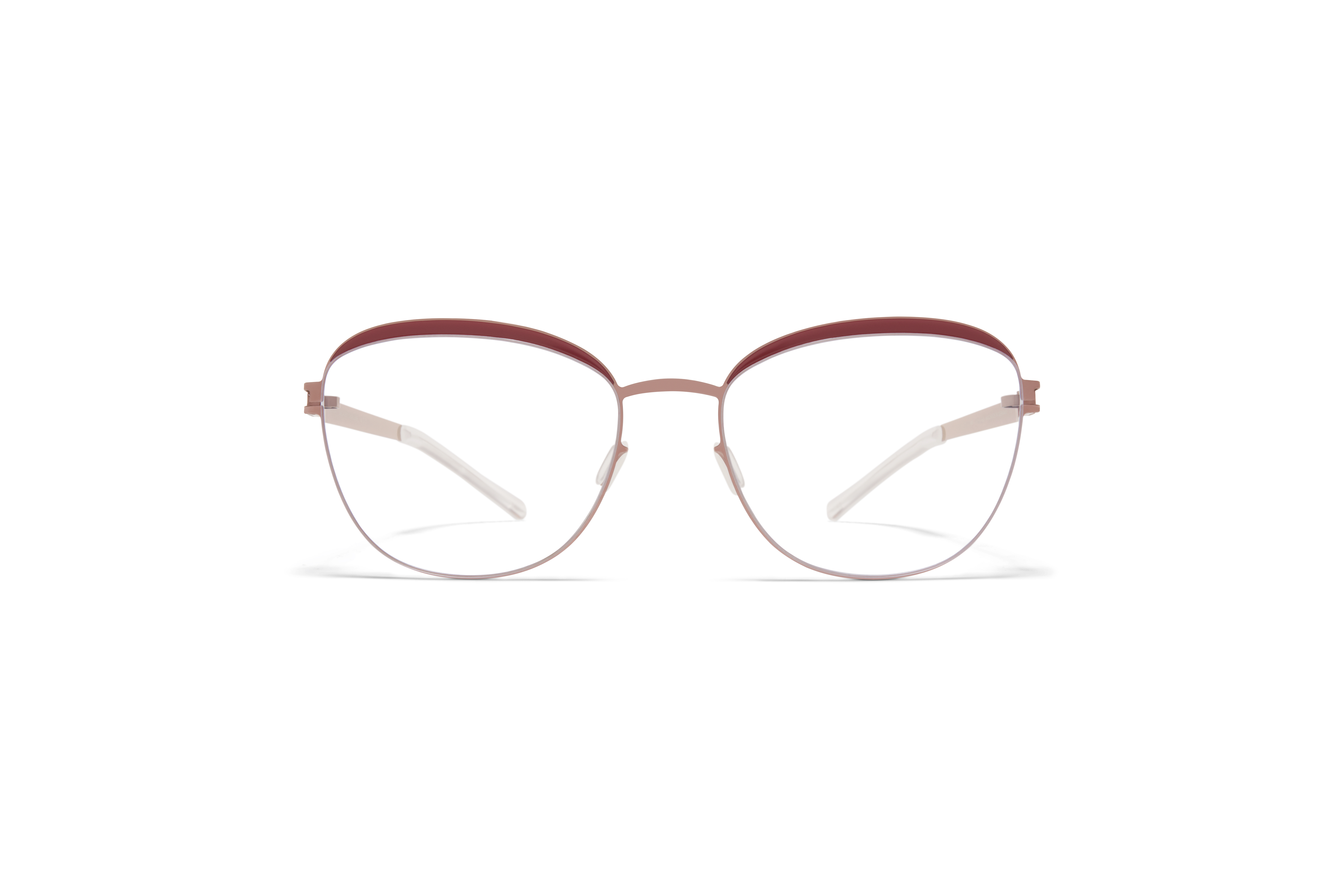 MYKITA Decades Rx Charlene Purple Bronze Cranberry Clear