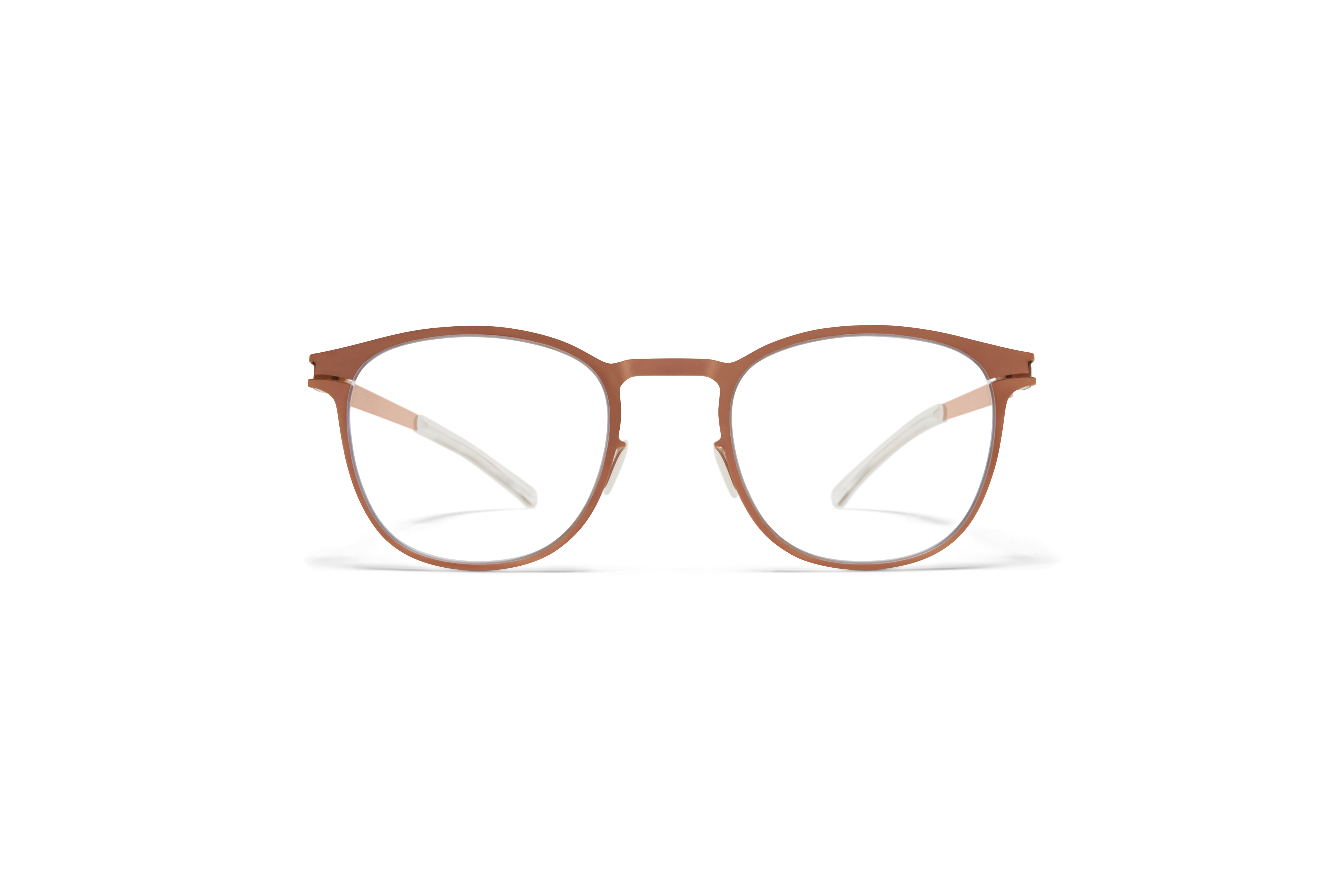 MYKITA Decades Rx Coltrane Shiny Copper Clear