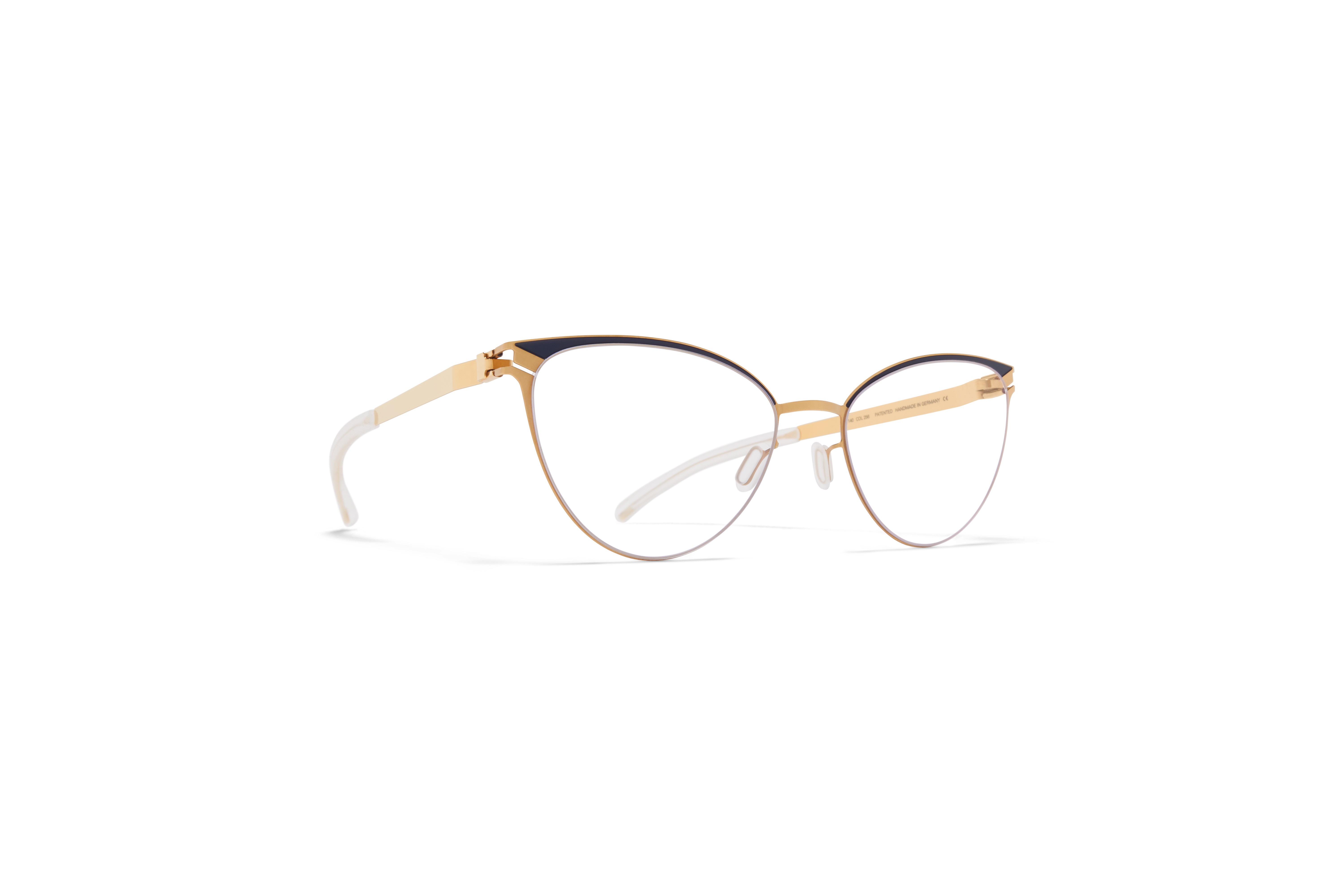 CYNDIE Unisex Fashion Round Glasses Frames Glasses Optical Transparent Glasses with Clear Lens