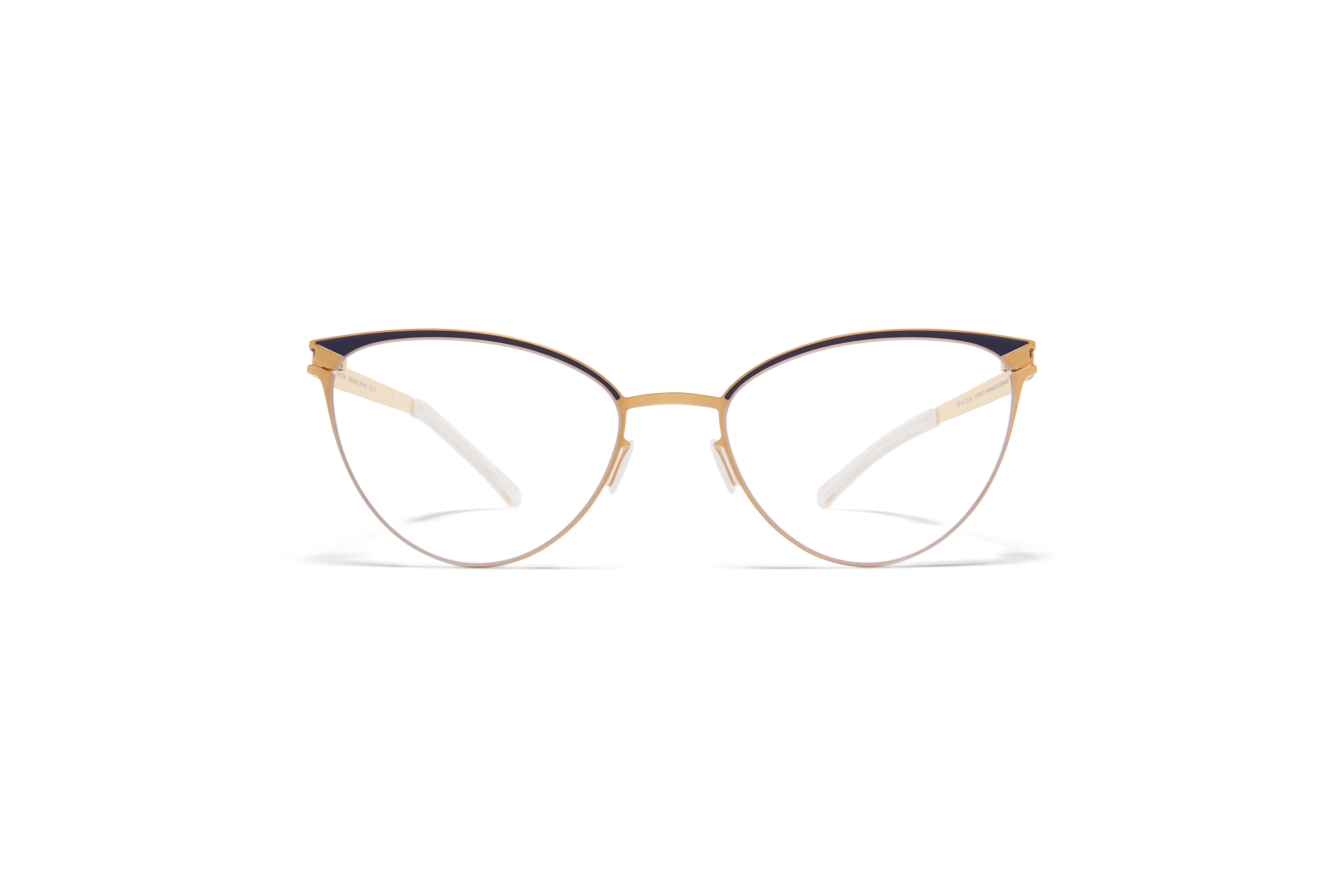 MYKITA Decades Rx Cynthia Gold Indigo Clear