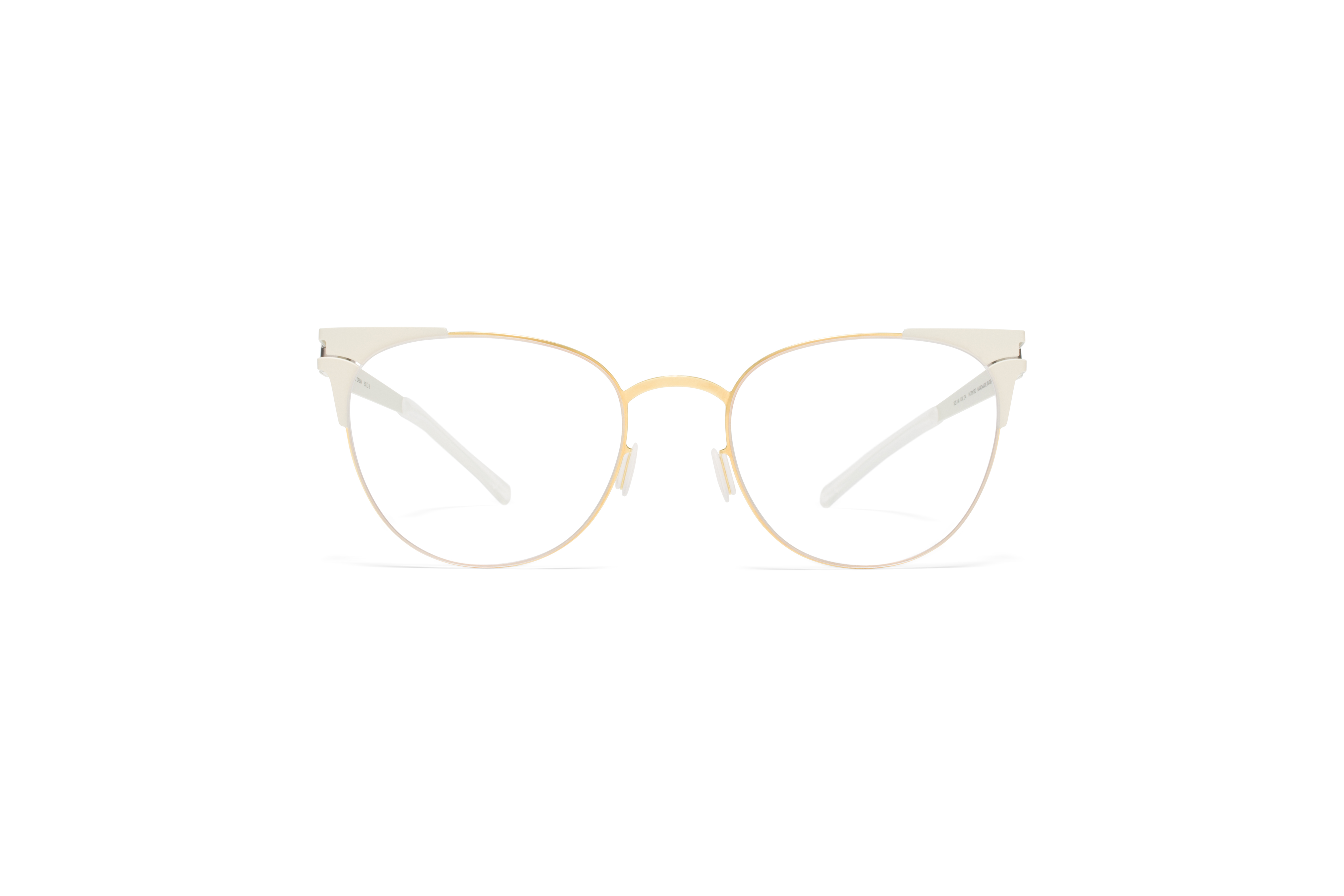MYKITA Decades Rx Drew Gold Offwhite Clear