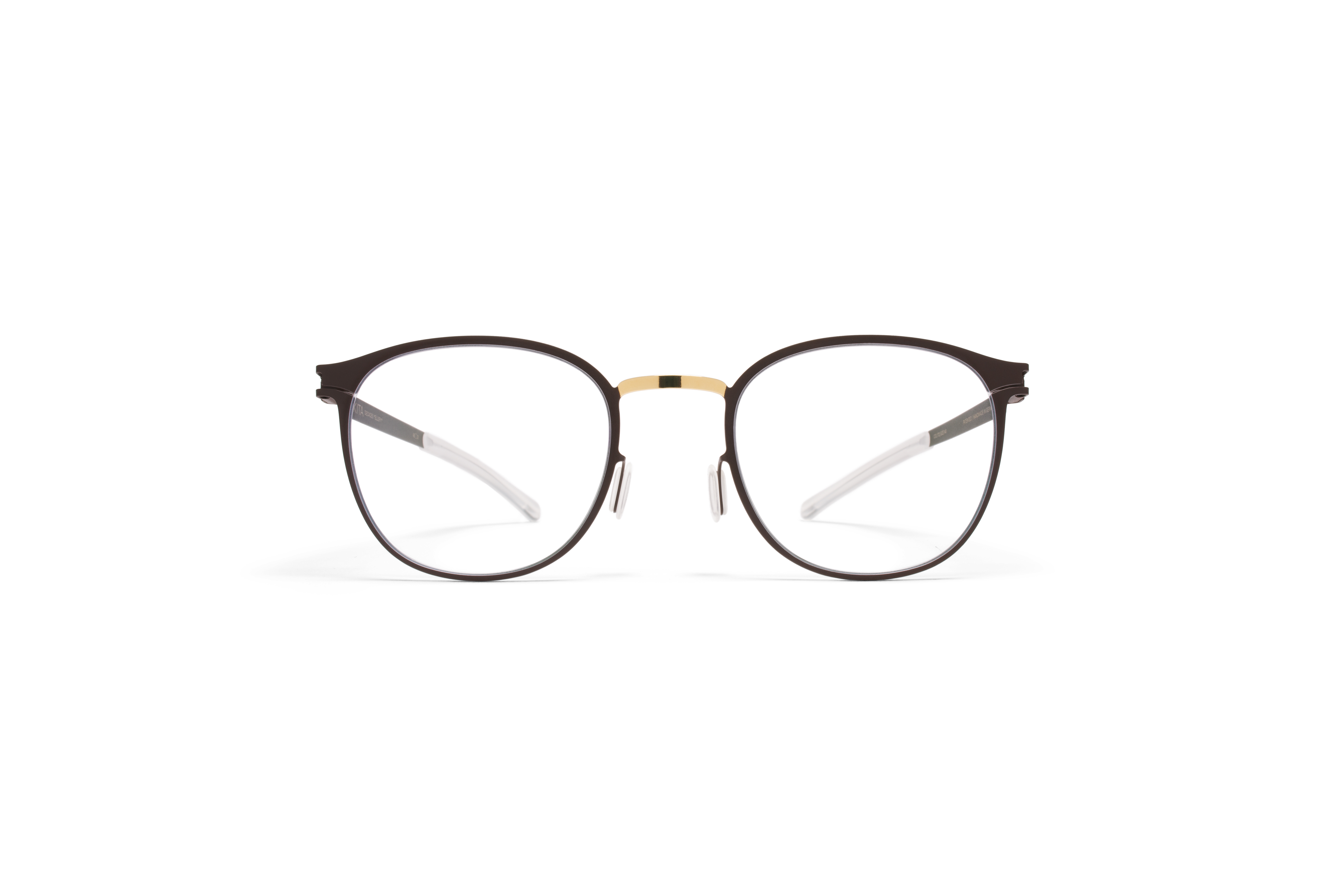MYKITA Decades Rx Ellery Gold Terra Clear
