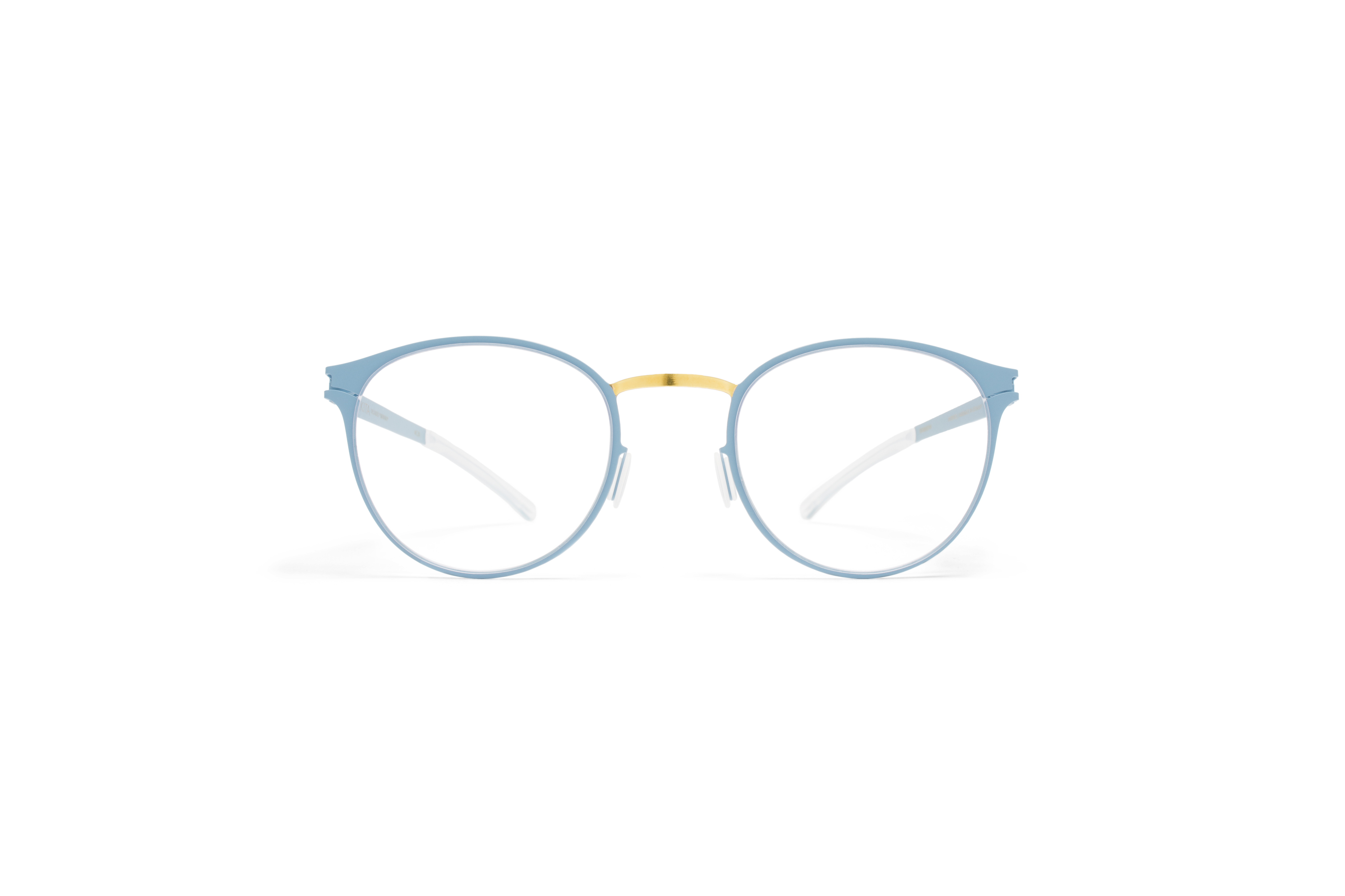 MYKITA Decades Rx Giorgio Gold Bluegrey Clear