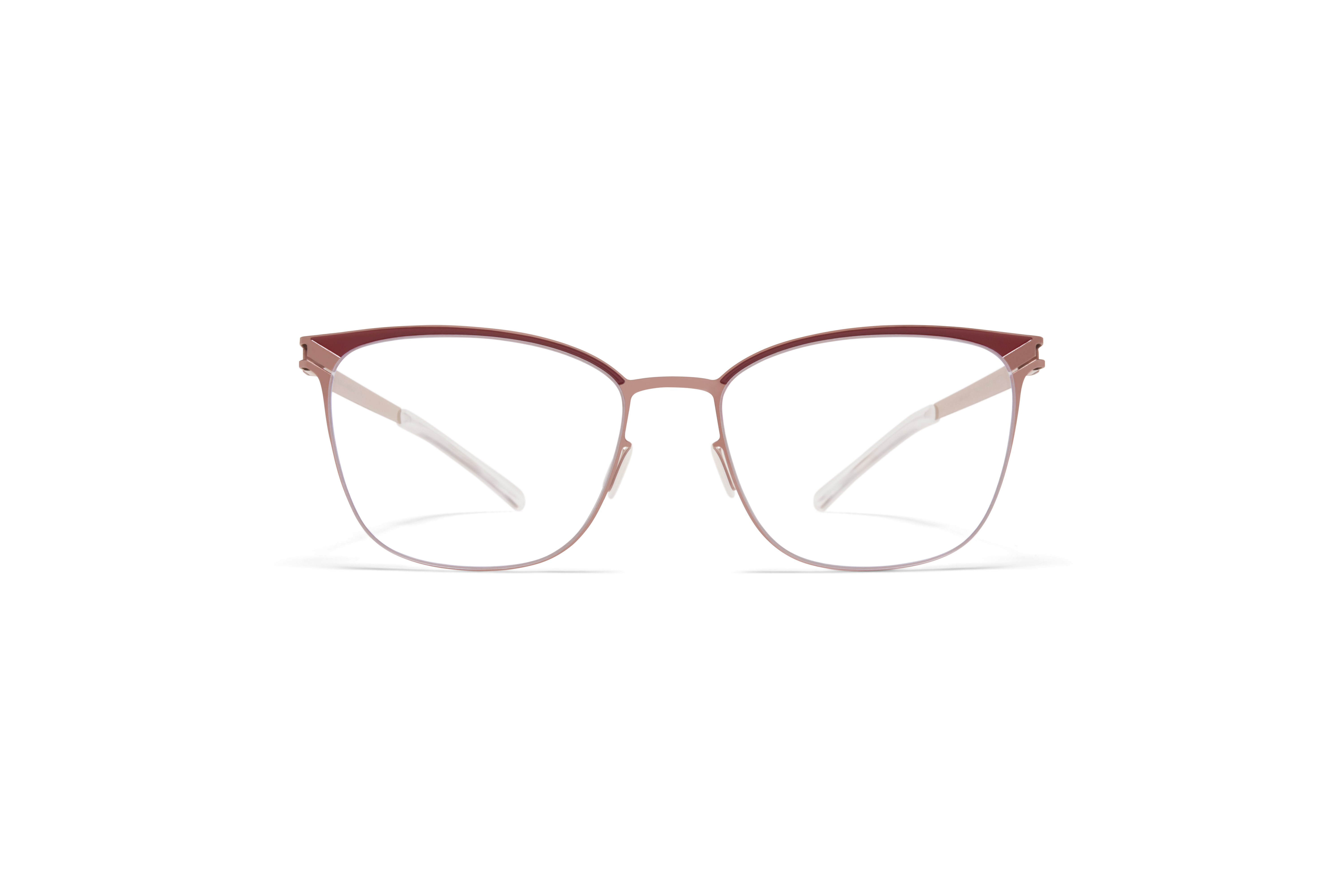 MYKITA Decades Rx Meghan Purple Bronze Cranberry Clear