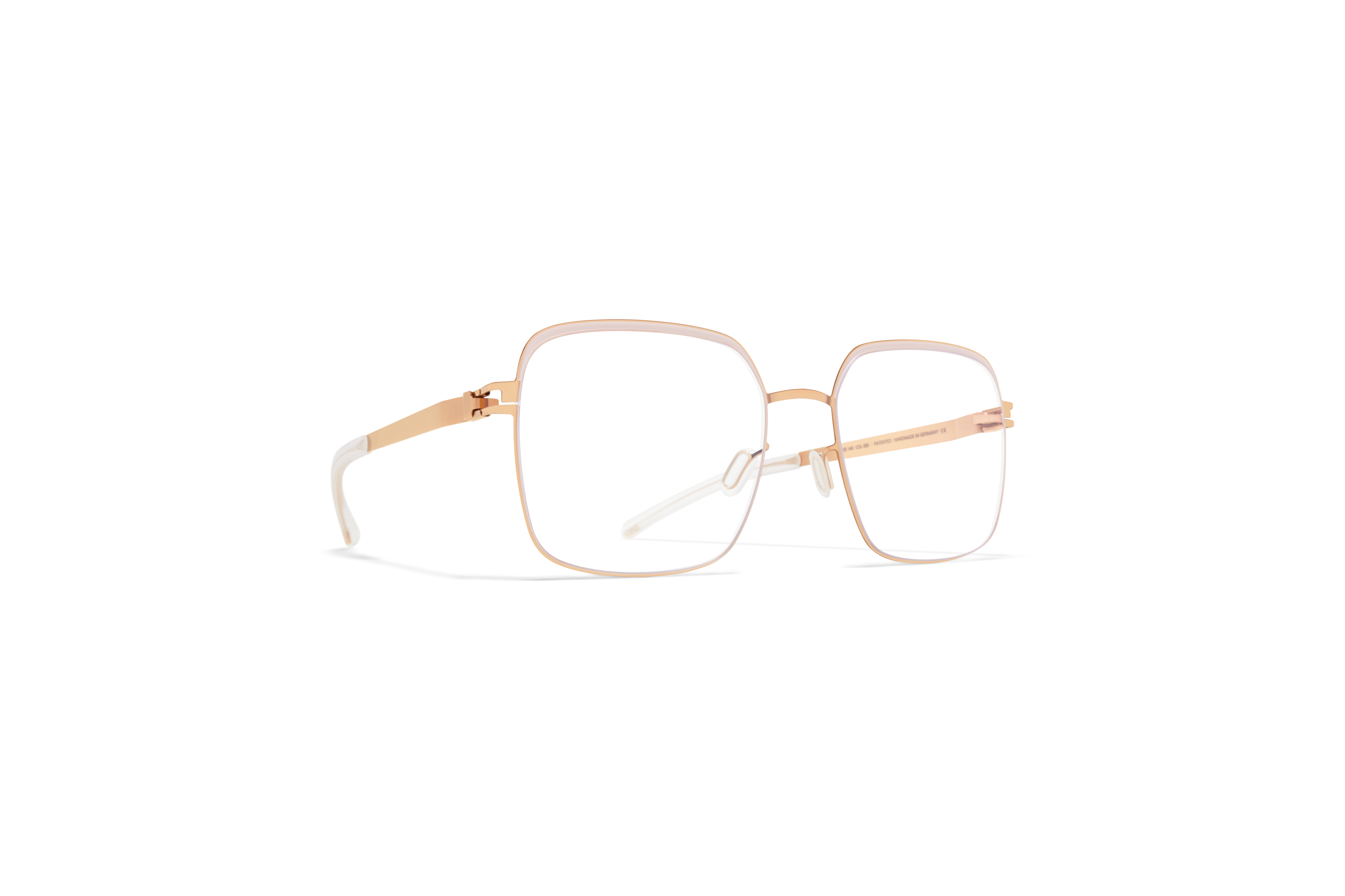 MYKITA Decades Rx Meryl Champagne Gold Aurore Clear