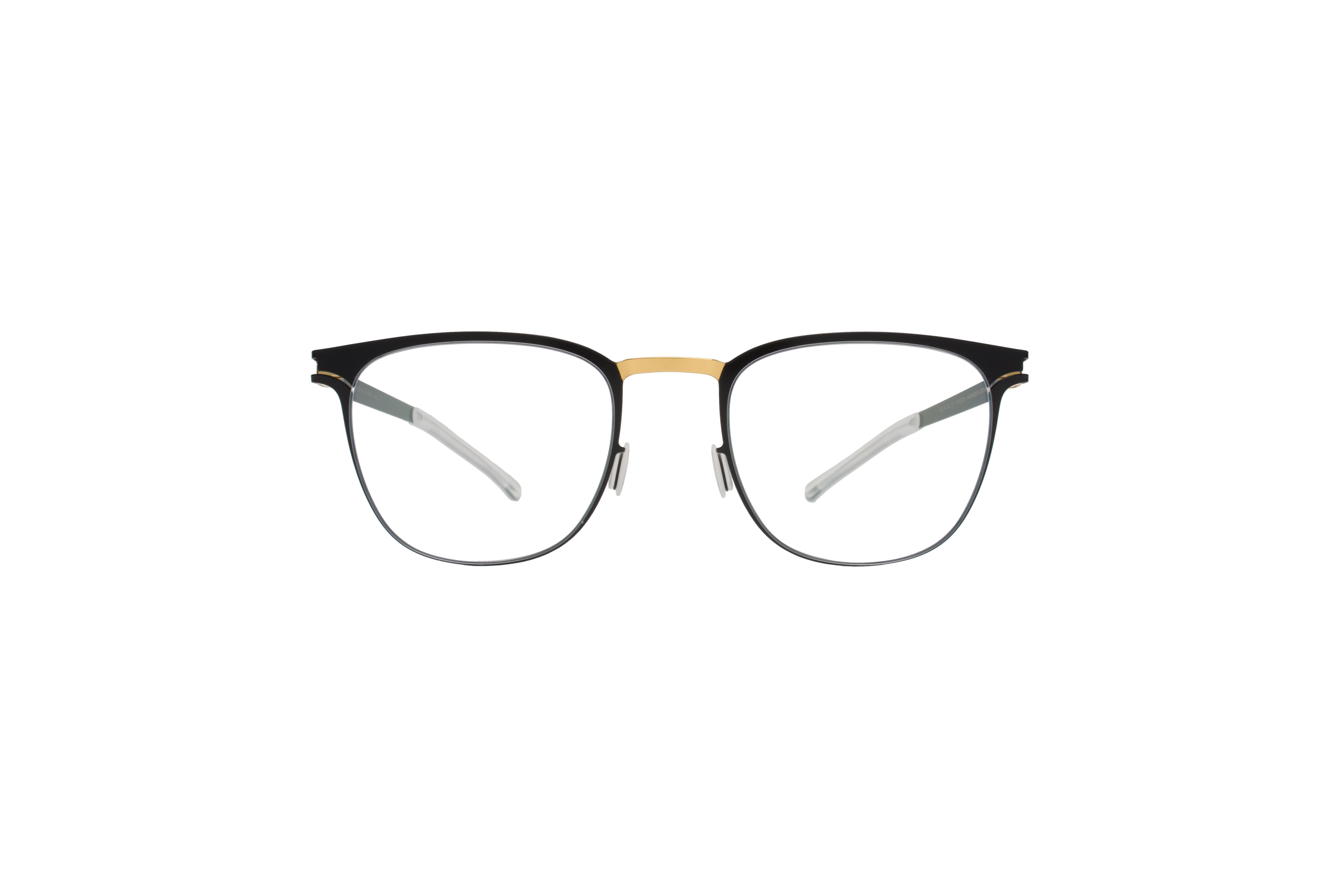 MYKITA Decades Rx Thabani Gold Jetblack Clear
