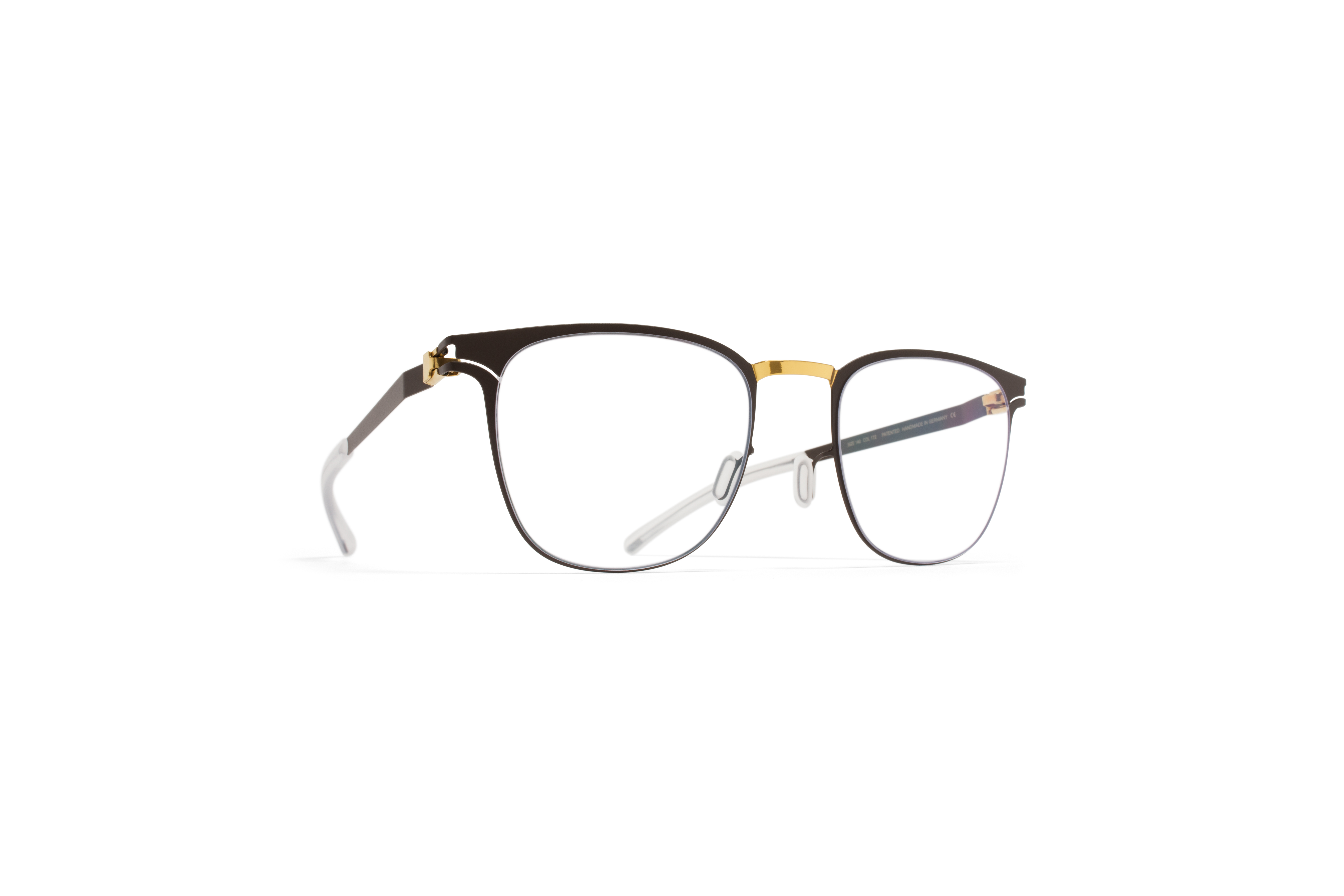 MYKITA Decades Rx Thabani Gold Terra Clear