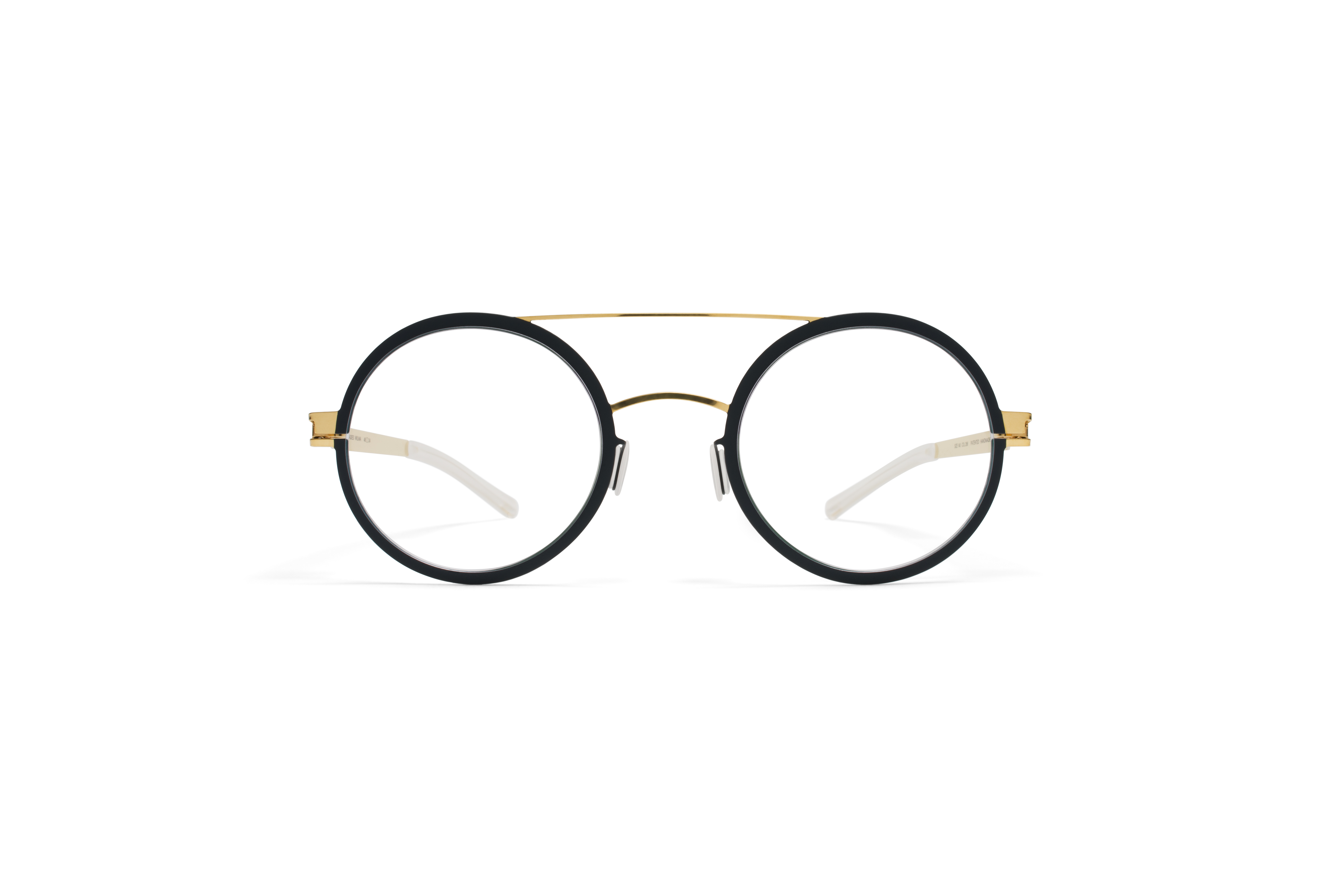 MYKITA Decades Rx Wilma Gold Indigo Clear