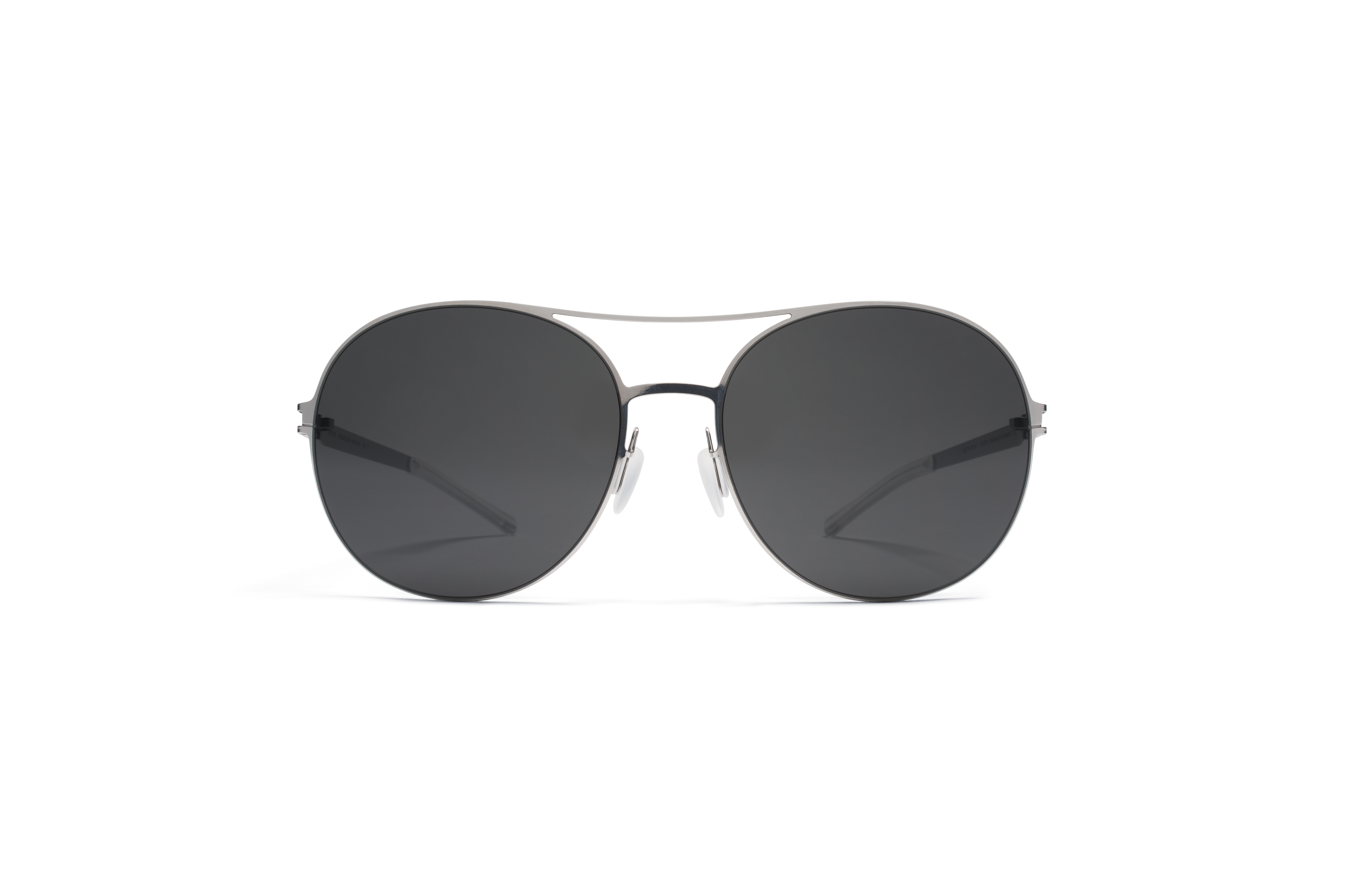 MYKITA Decades Sun Adelheid Shinysilver Darkgrey S56bb1d4091f4b