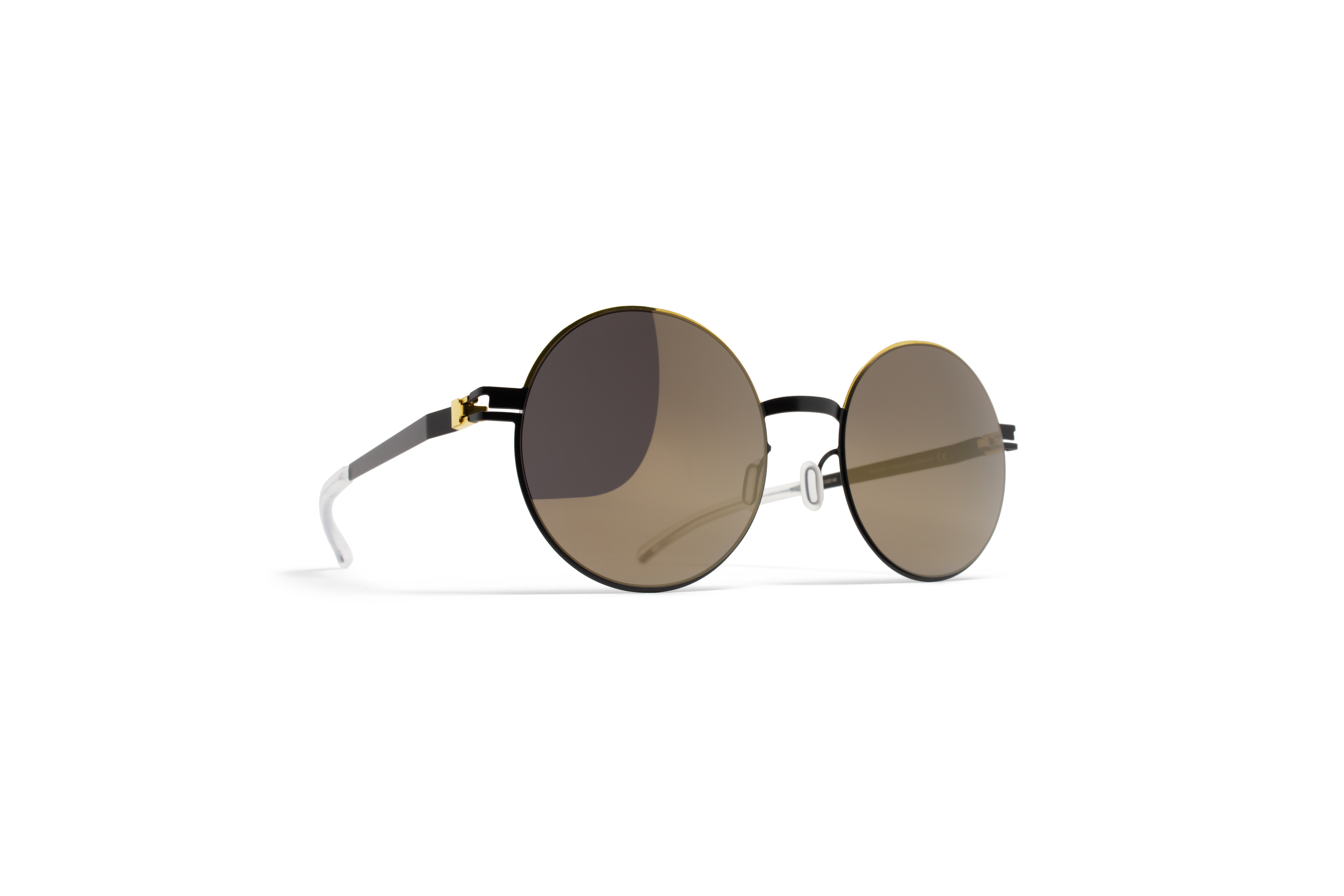 MYKITA Decades Sun Alice Gold Jetblack Brilliantgr