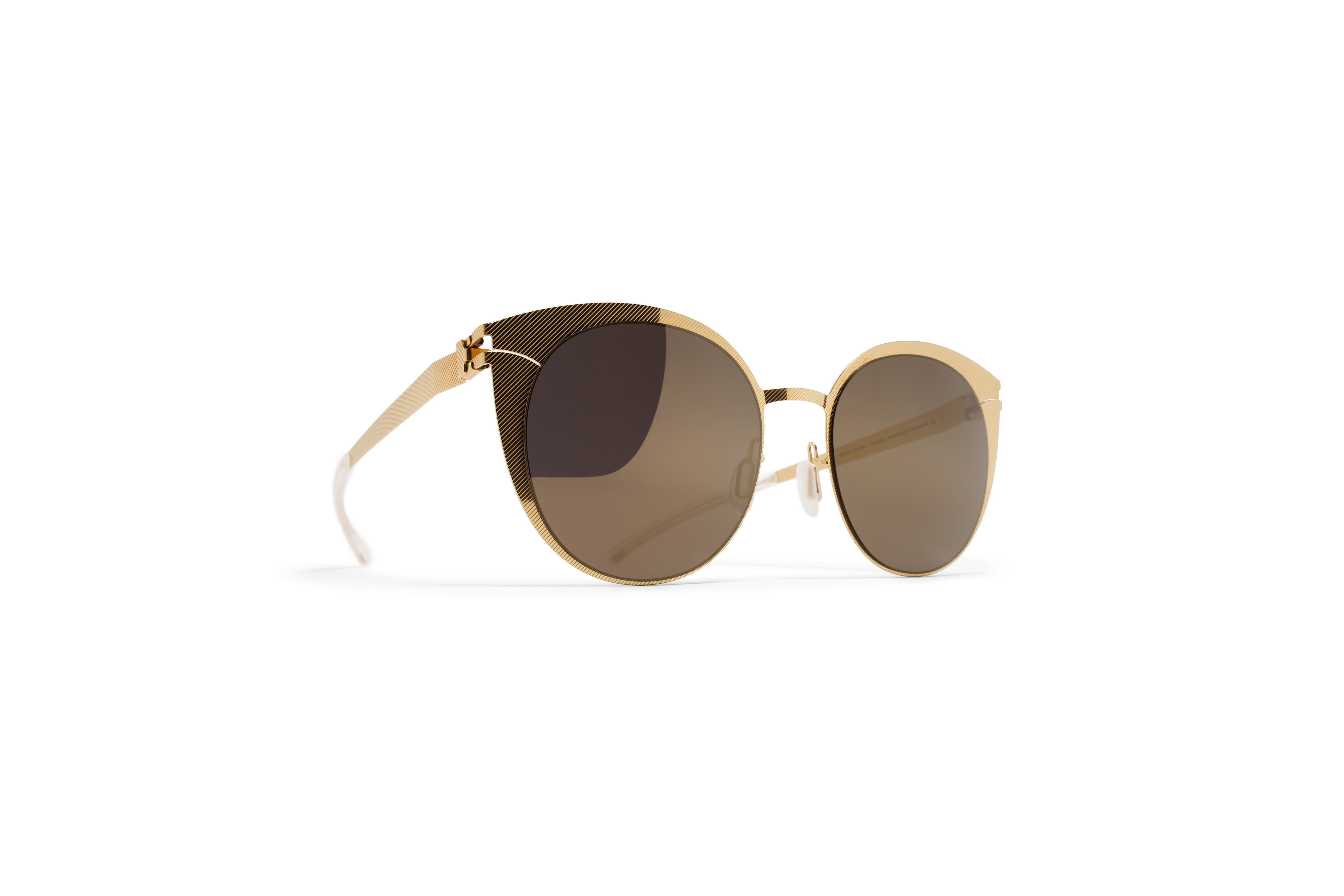 MYKITA Decades Sun Boldewyn Gold Hatch Brilliantgr