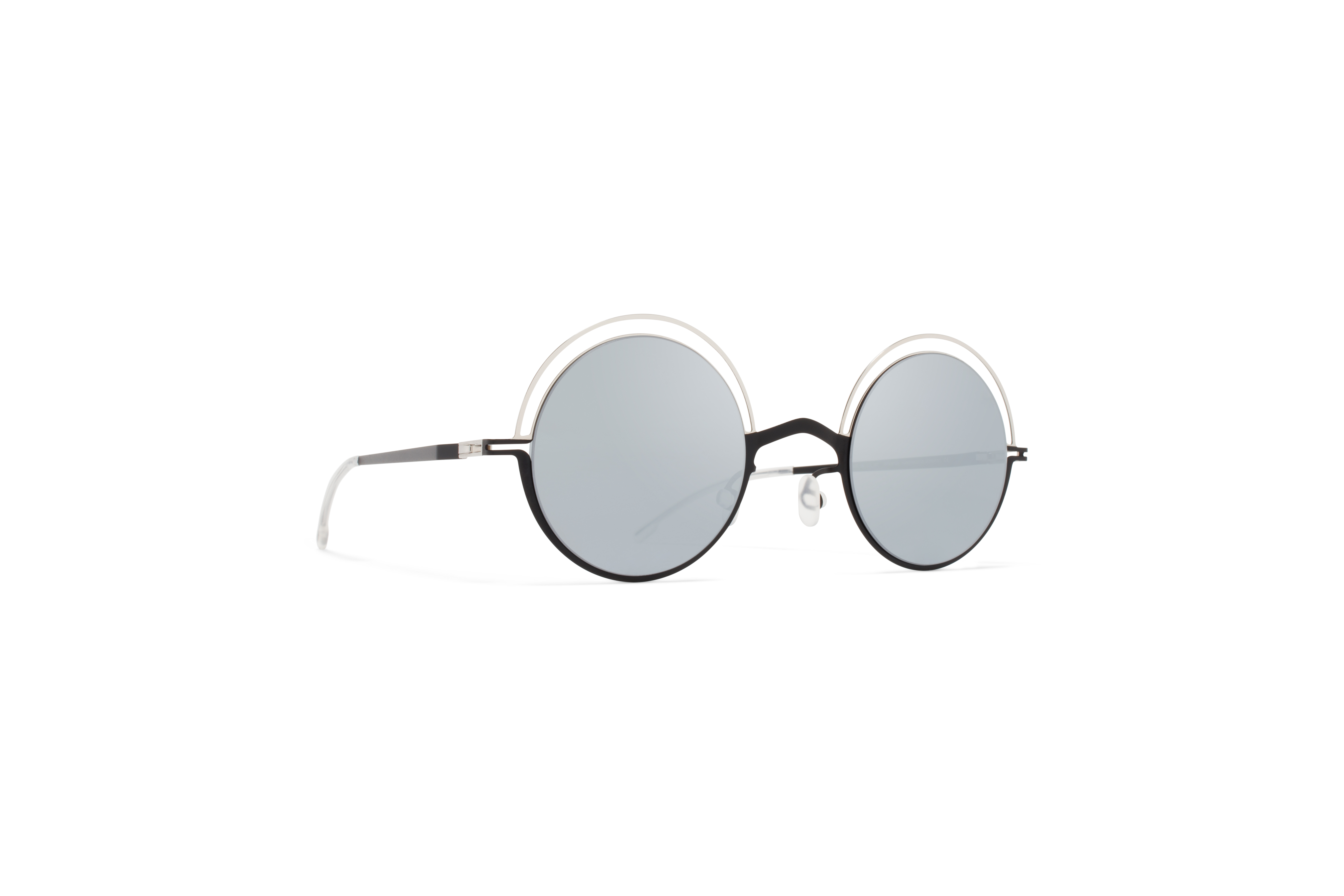 MYKITA Decades Sun Bueno Silver Black Silver Flash58ab1b3f350e4