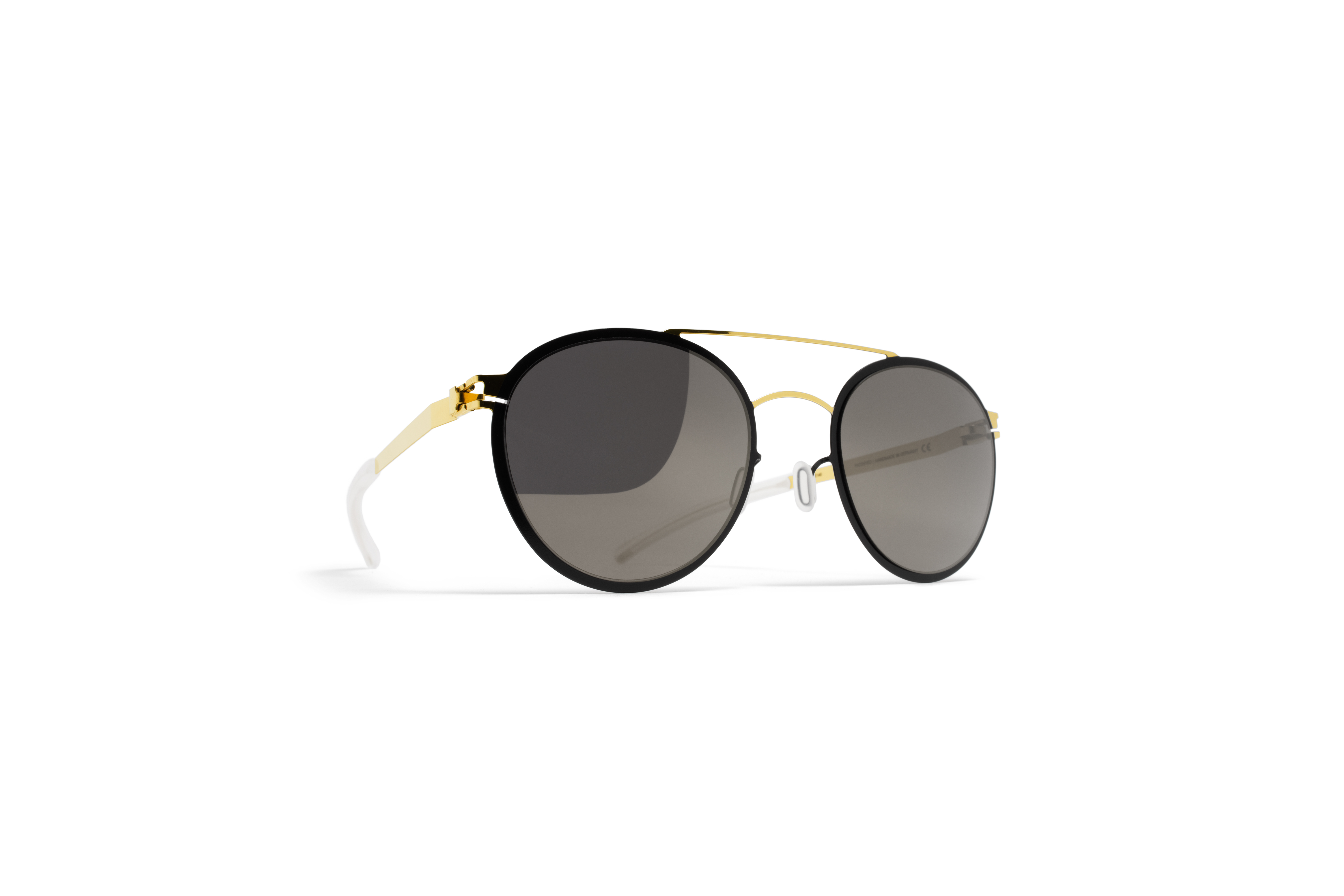 MYKITA Decades Sun Buster Gold Jetblack Brilliantg