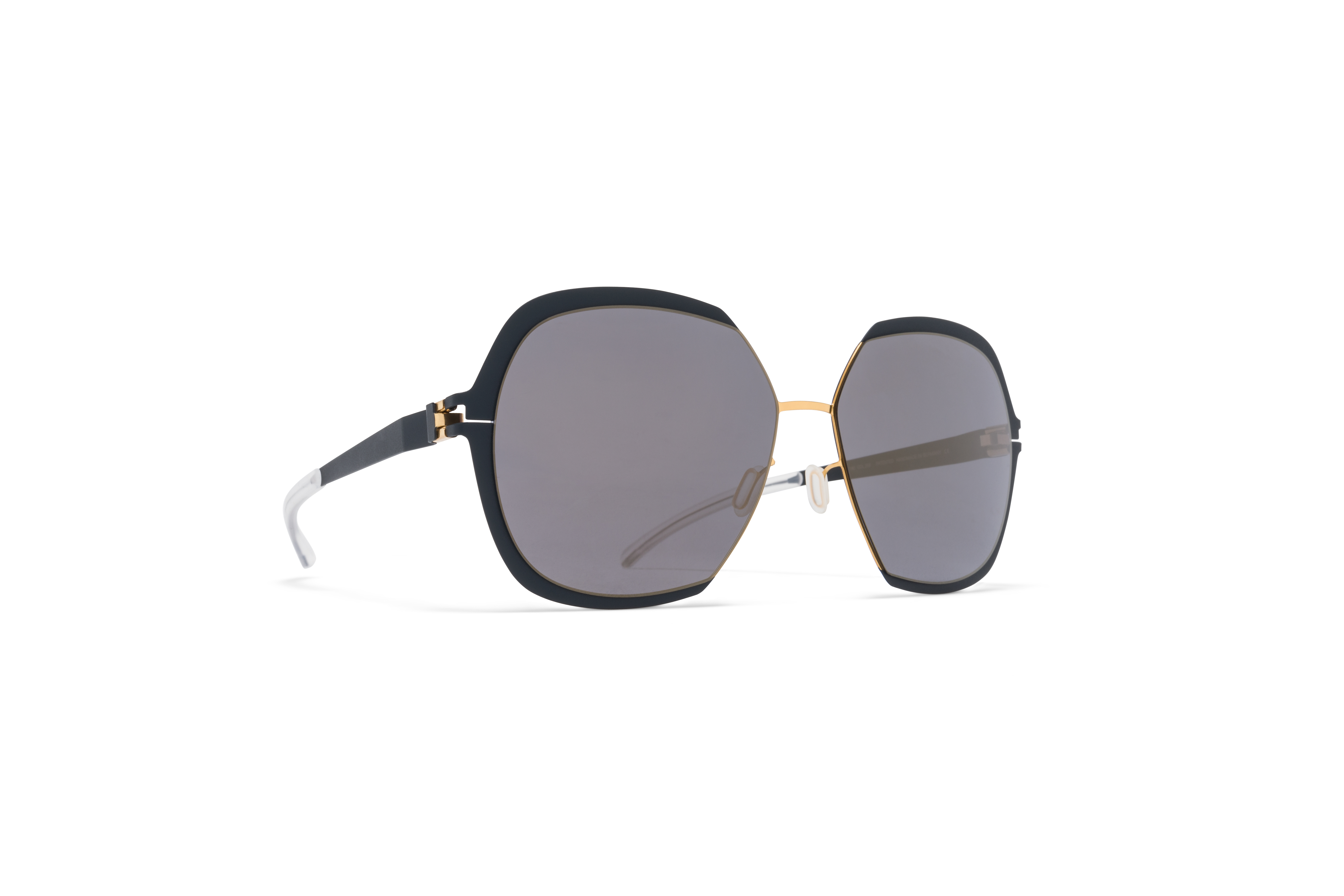 MYKITA Decades Sun Felicia Gold Indigo Brilliant B59fb2292a2c1b